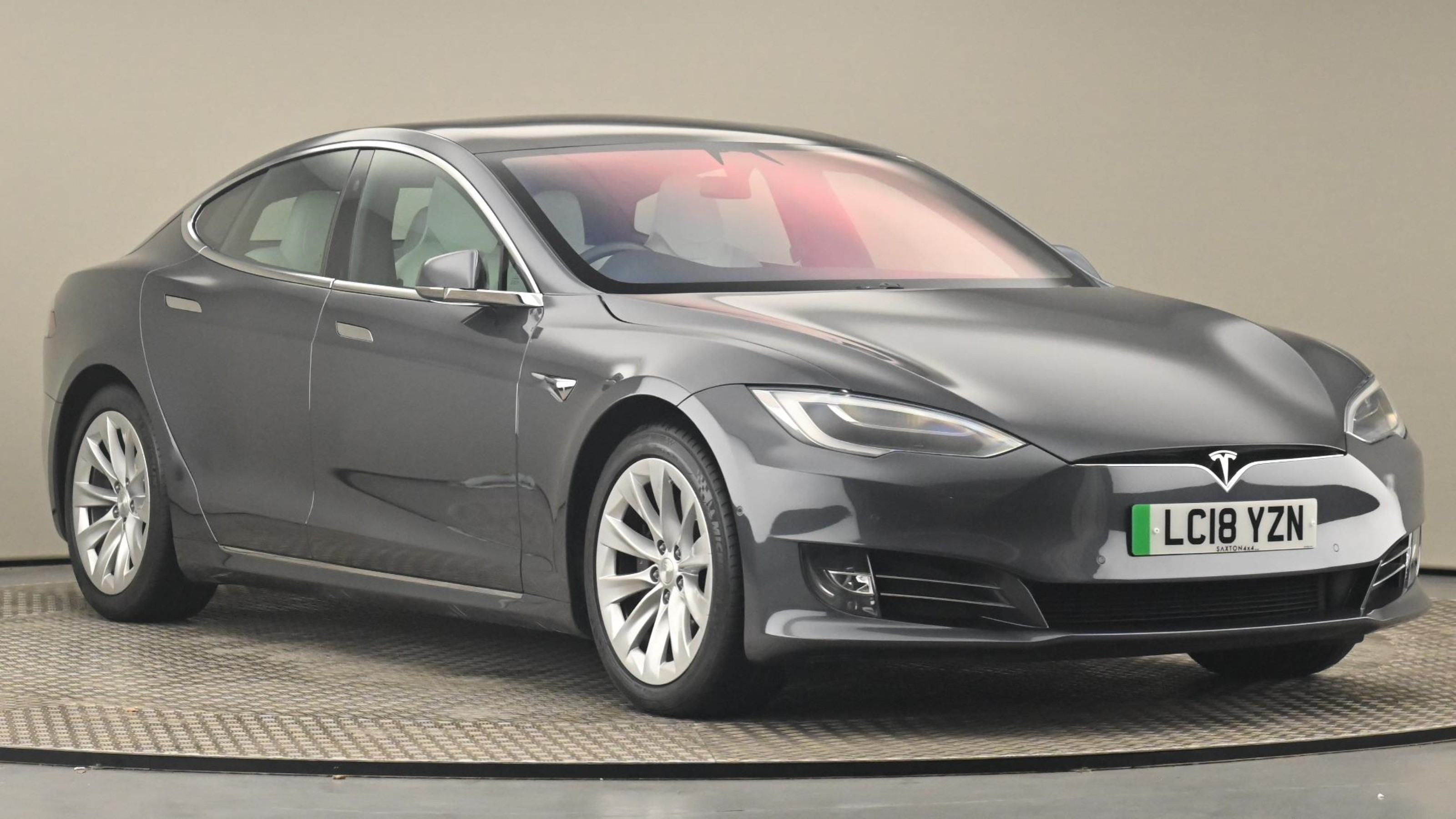 Used 2018 Tesla MODEL S 241kW 75kWh Dual Motor 5dr Auto GREY at Saxton4x4
