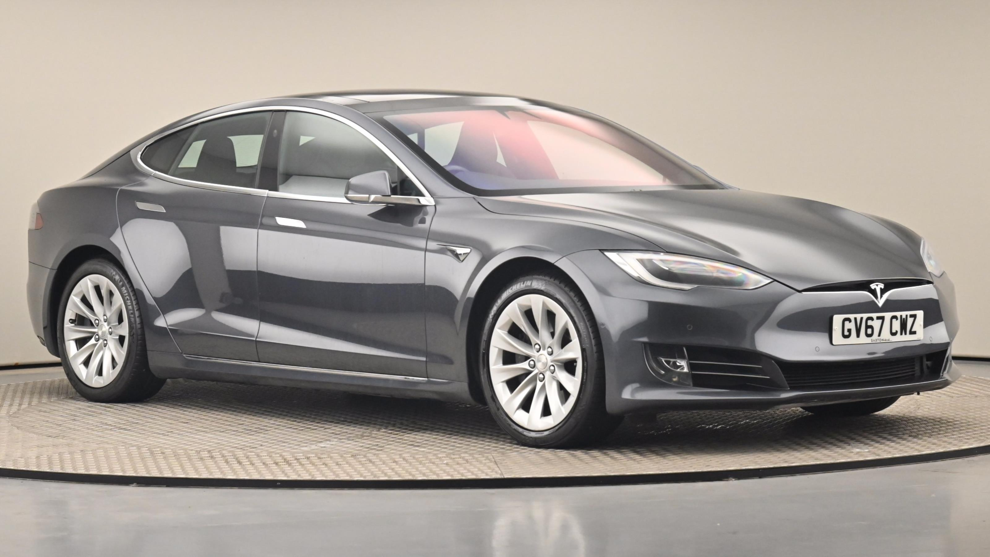 Used 2017 Tesla MODEL S 449kW 100kWh Dual Motor 5dr Auto SILVER at Saxton4x4