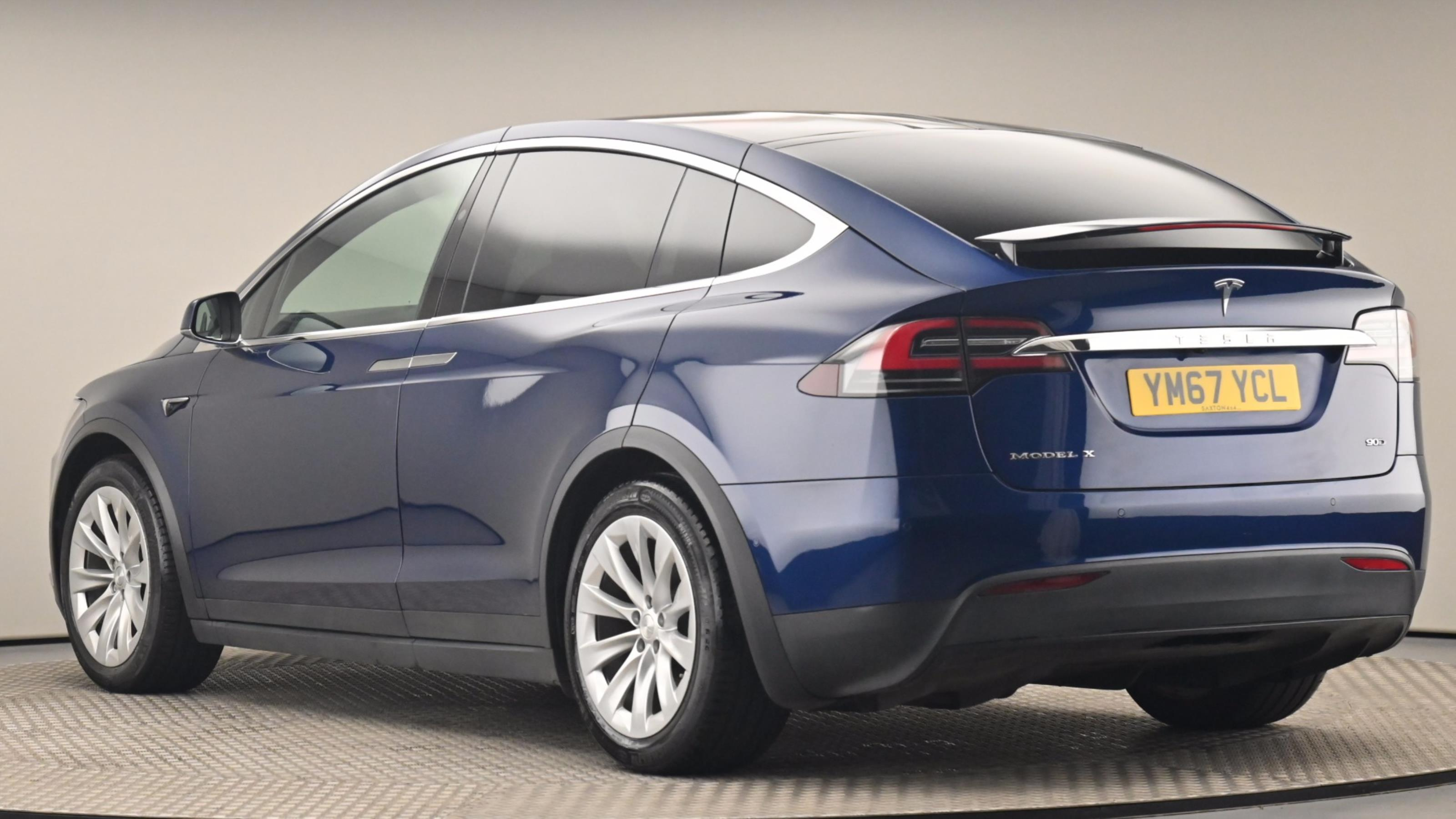 Used 2017 Tesla MODEL X 306kW 90kWh Dual Motor 5dr BLUE at Saxton4x4