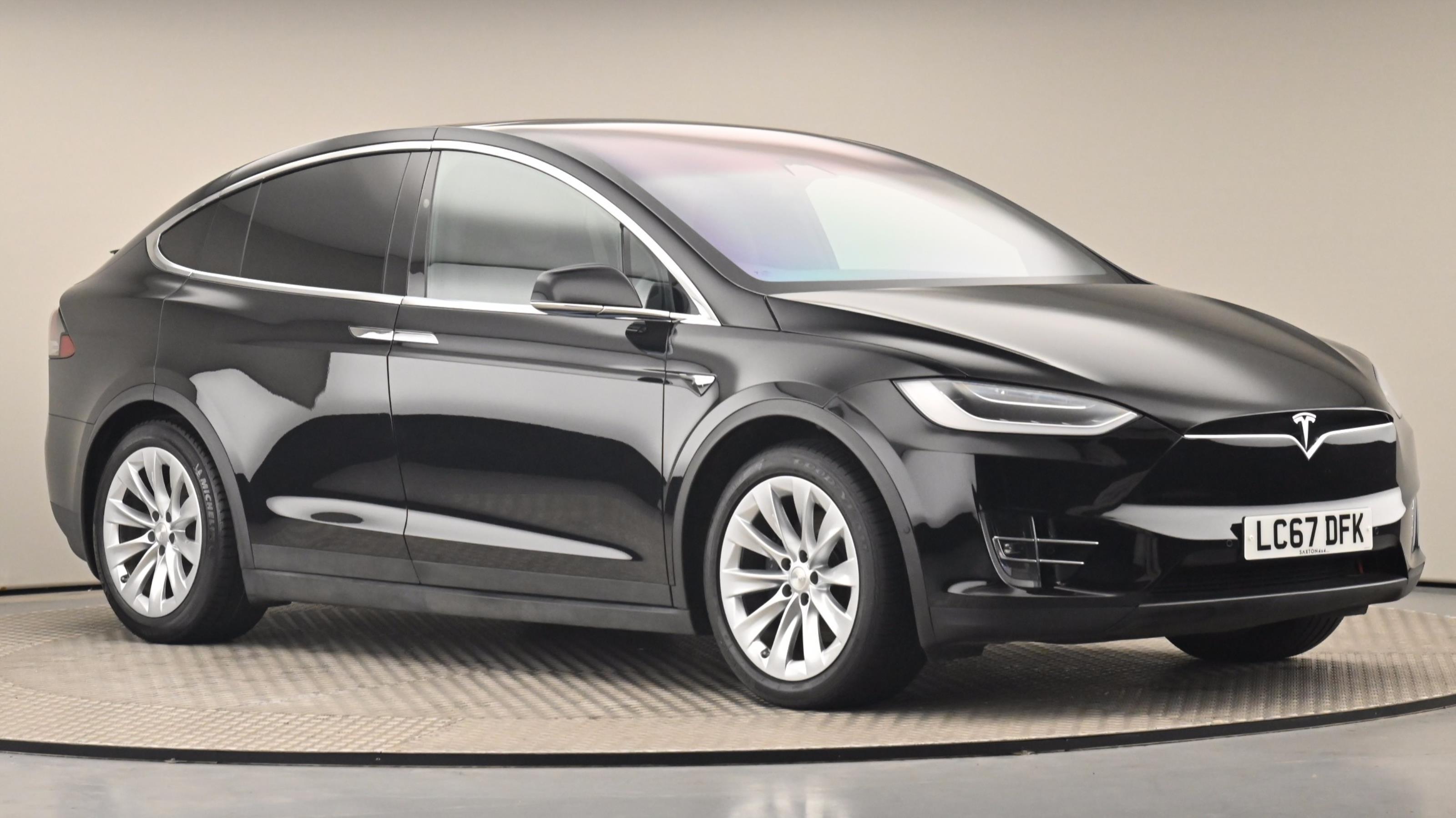 Used 2017 Tesla MODEL X 449kW 100kWh Dual Motor 5dr Auto BLACK at Saxton4x4
