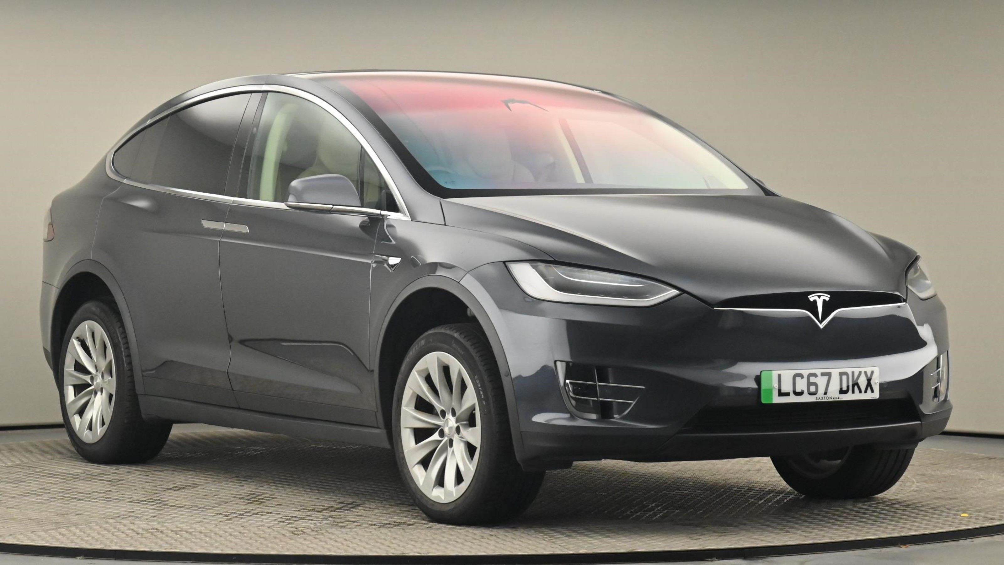 Used 2017 Tesla MODEL X 245kW 75kWh Dual Motor 5dr Auto ~ at Saxton4x4