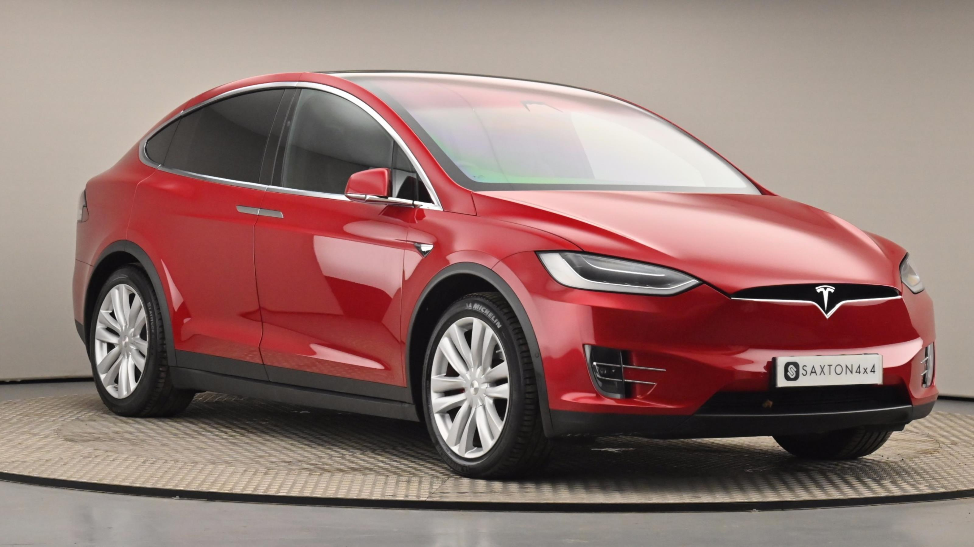 Used 2017 Tesla MODEL X 449kW 100kWh Dual Motor 5dr Auto RED at Saxton4x4