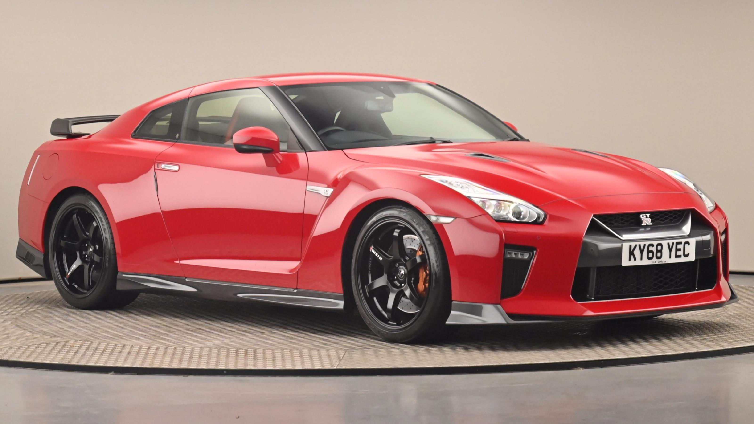 Used 2018 Nissan Gt-r Track Edition S-a RED at Saxton4x4