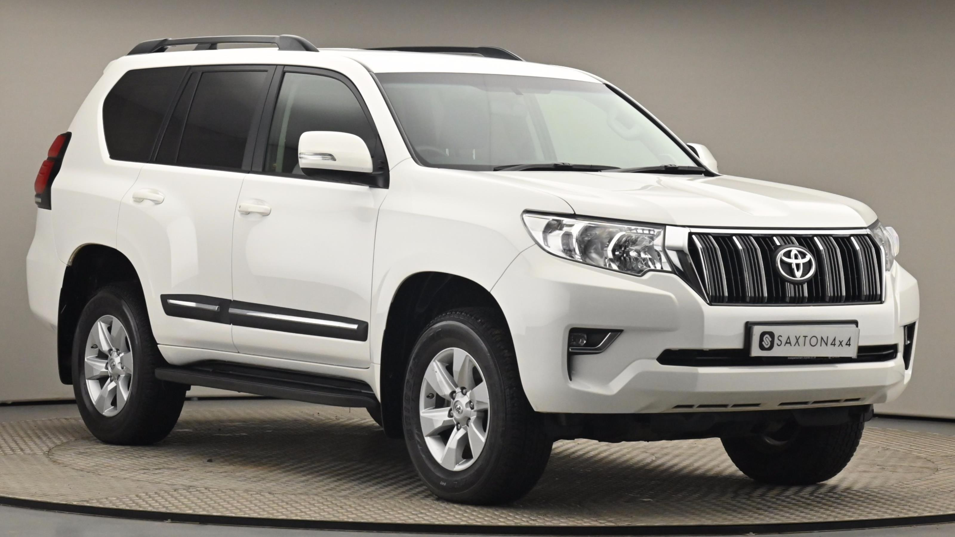 Used 2019 Toyota LAND CRUISER 2.8 D-4D Active 5dr Auto 7 Seats WHITE at Saxton4x4