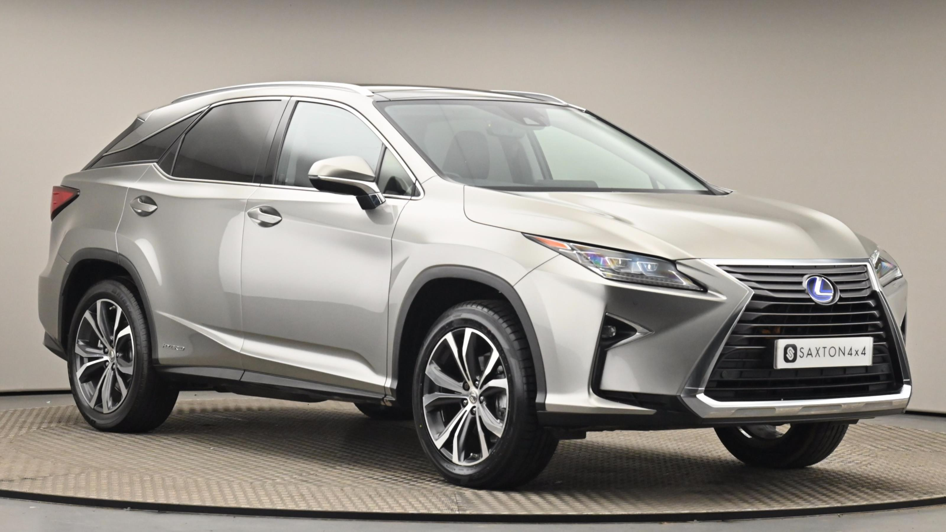 Used 2016 Lexus RX 450h 3.5 Luxury 5dr CVT [Pan roof] SILVER at Saxton4x4