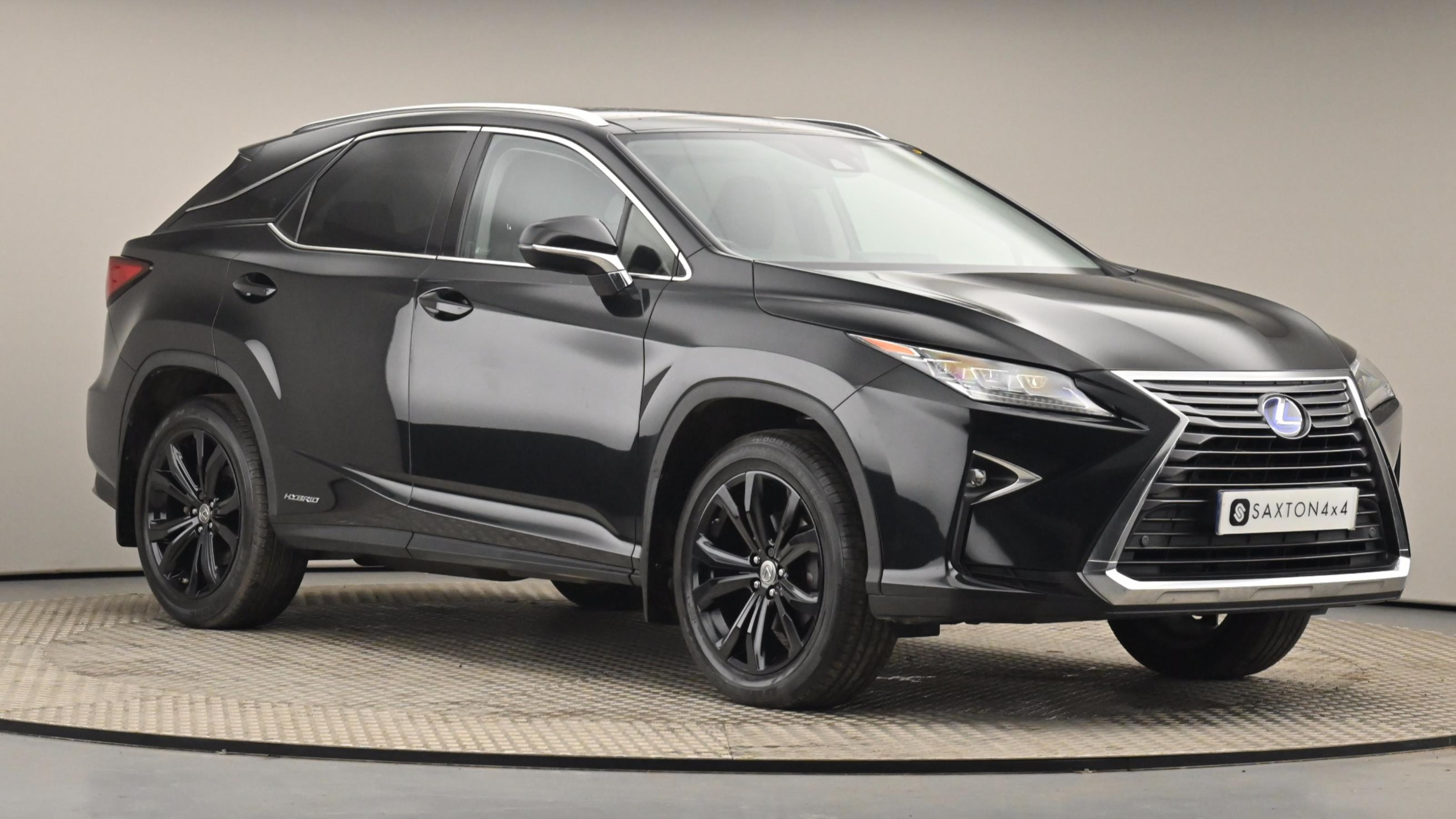 Used 2016 Lexus RX 450h 3.5 Luxury 5dr CVT [Pan roof] BLACK at Saxton4x4