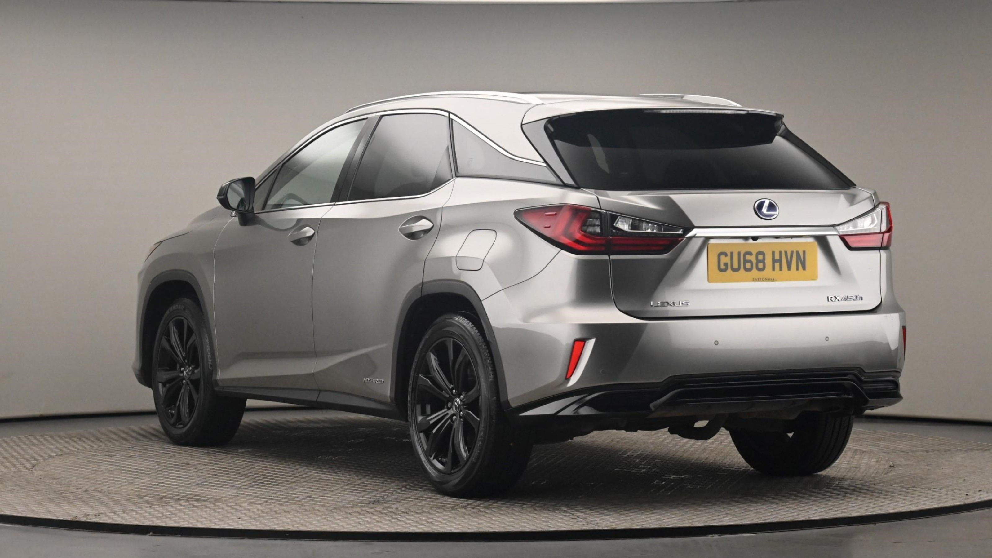 Used 2018 Lexus RX 450h 3.5 Sport 5dr CVT [Pan roof] SILVER at Saxton4x4