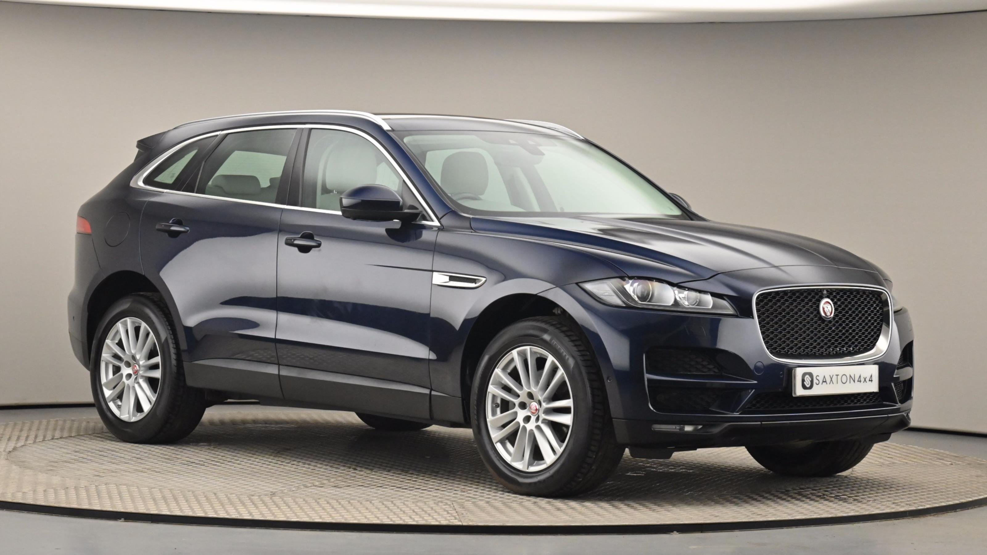 Used 2017 Jaguar F-PACE 2.0d Portfolio 5dr Auto AWD BLUE at Saxton4x4
