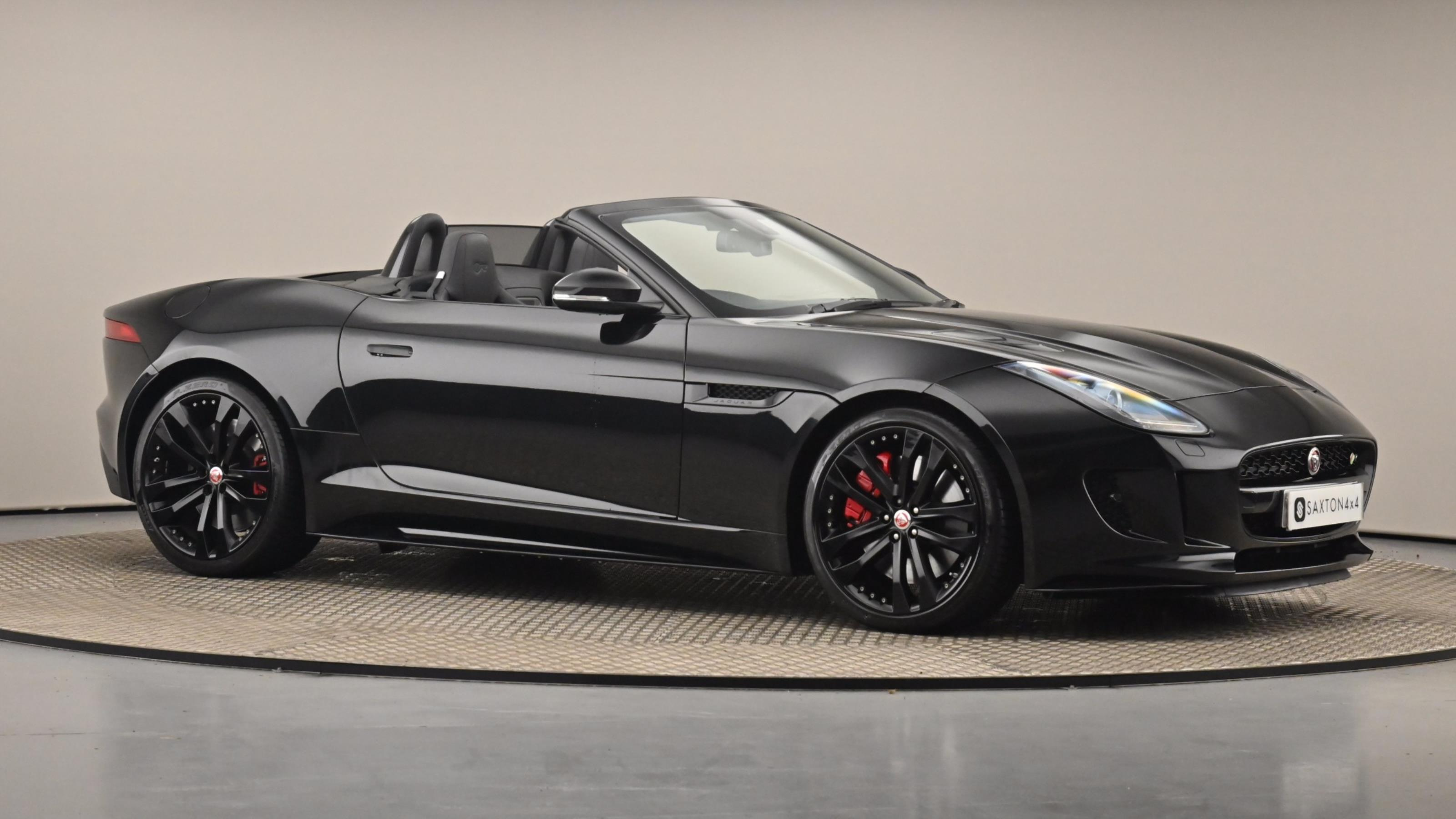 Used 2016 Jaguar F-TYPE 5.0 Supercharged V8 R 2dr Auto AWD Black at Saxton4x4