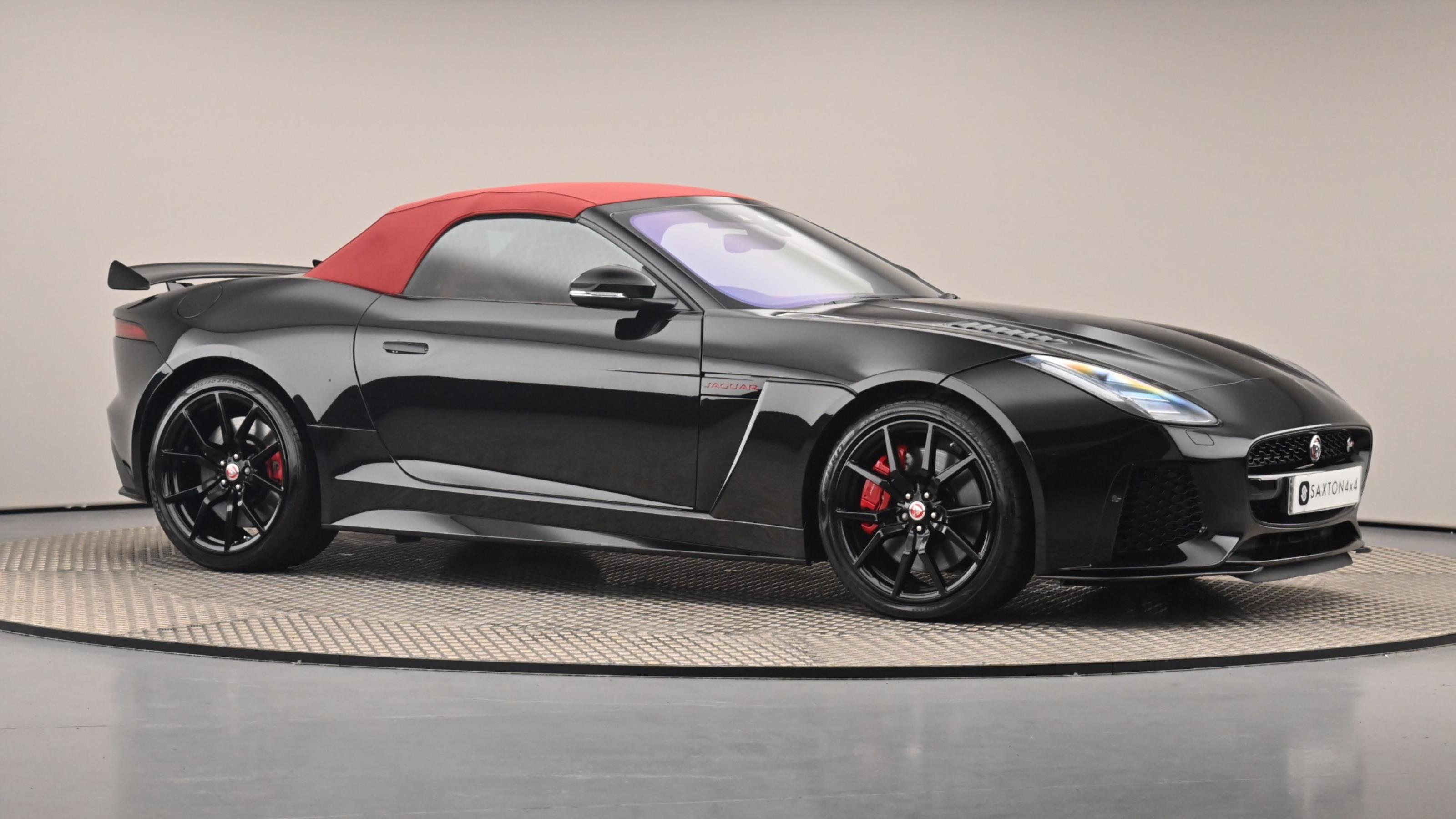 Used 2017 Jaguar F-TYPE 5.0 Supercharged V8 SVR 2dr Auto AWD BLACK at Saxton4x4
