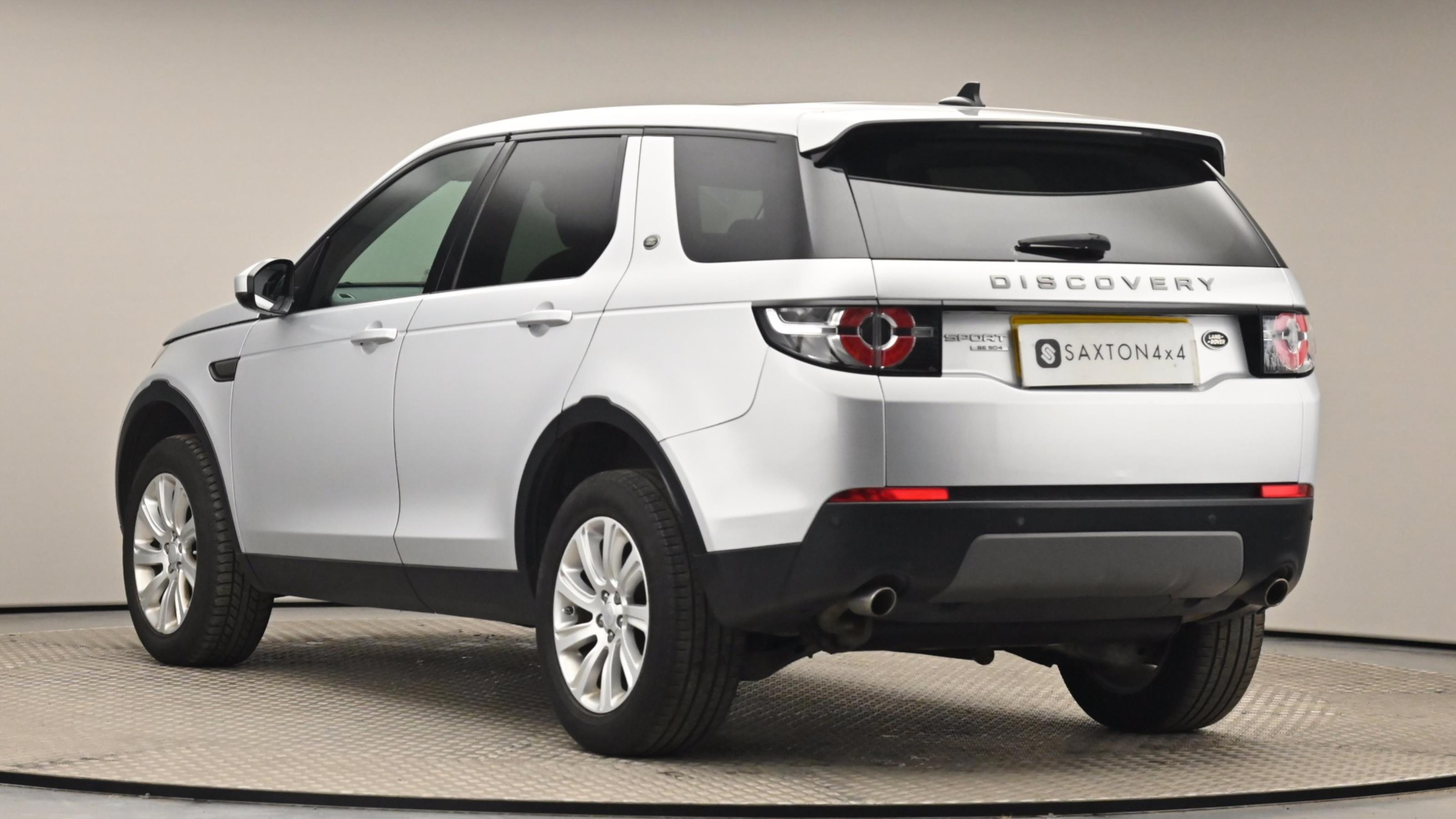 Used 15 Land Rover DISCOVERY SPORT 2.2 SD4 SE 5dr Auto SILVER at Saxton4x4