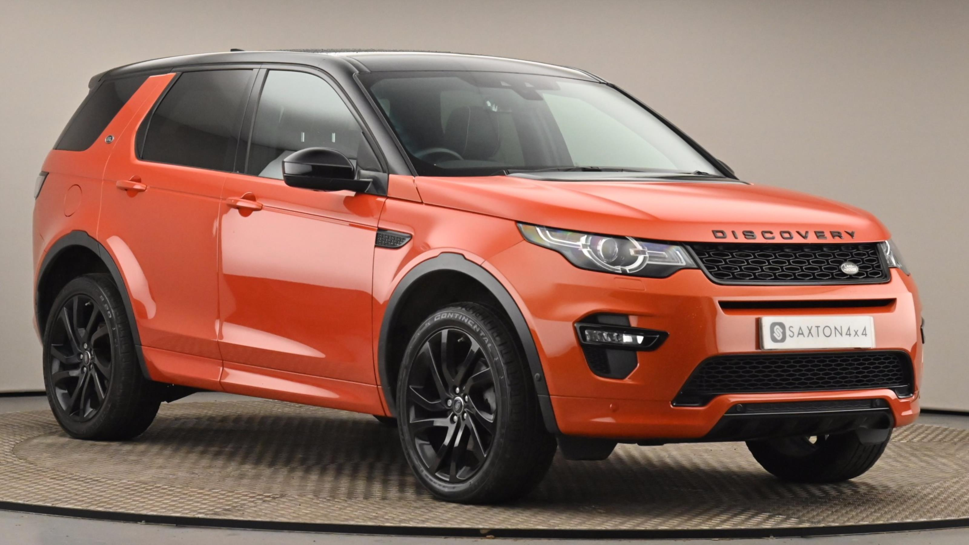 Used 2016 Land Rover DISCOVERY SPORT 2.0 TD4 180 HSE Dynamic Lux 5dr Auto ORANGE at Saxton4x4