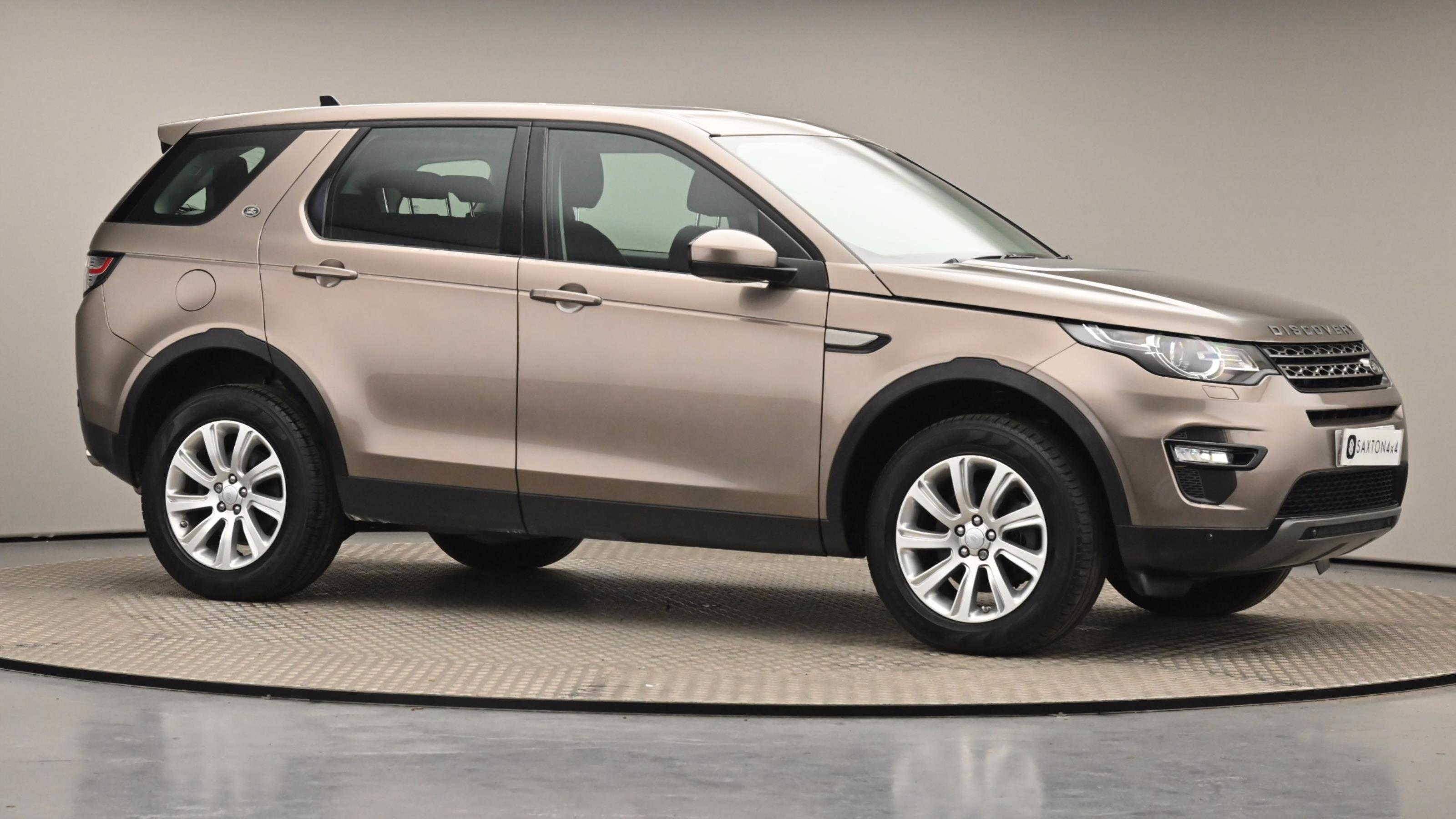 Used 15 Land Rover DISCOVERY SPORT 2.0 TD4 180 SE Tech 5dr Auto Brown at Saxton4x4