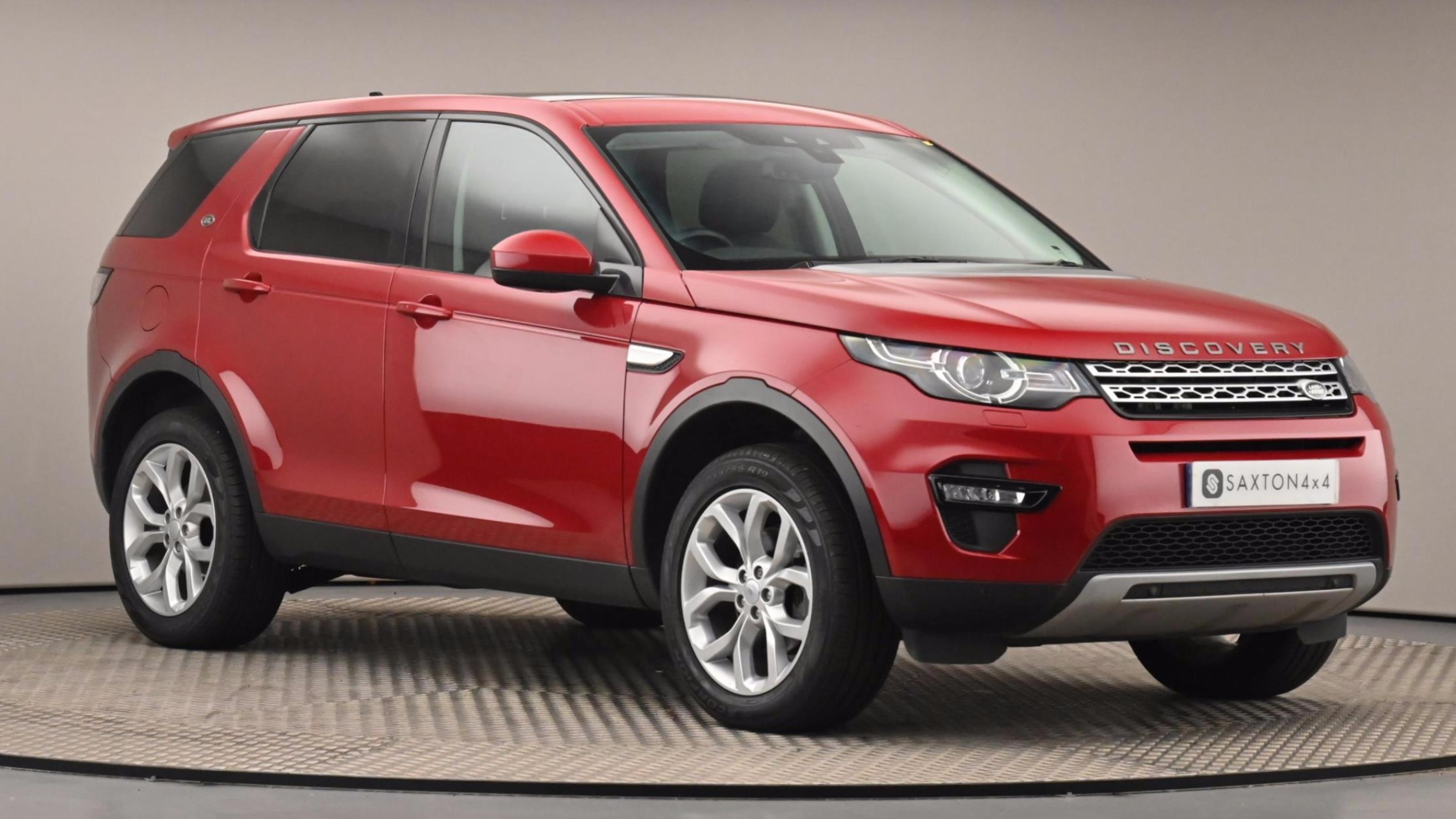 Used 16 Land Rover DISCOVERY SPORT 2.0 TD4 180 HSE 5dr Auto RED at Saxton4x4