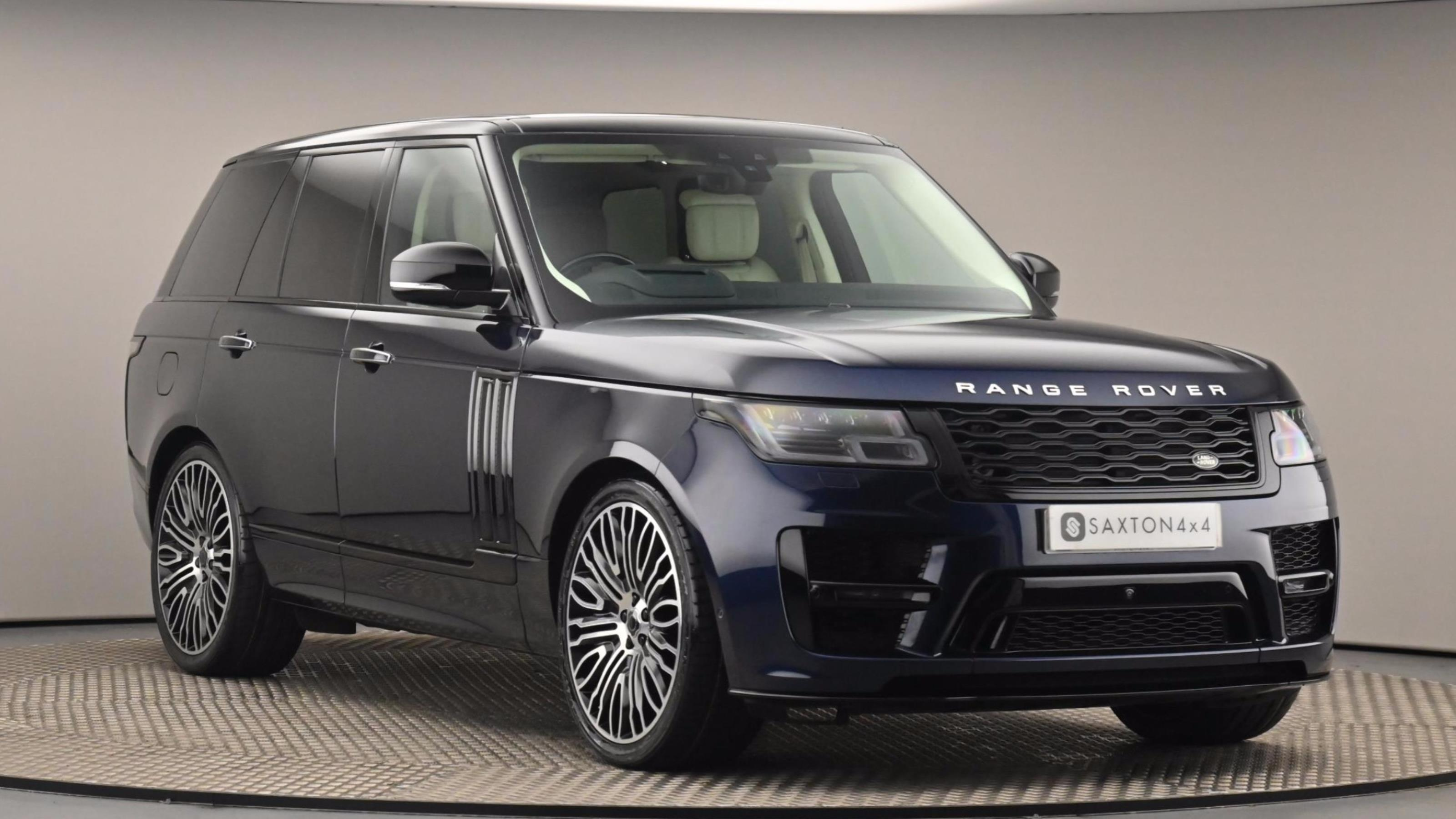 Used 2019 Land Rover RANGE ROVER 5.0 V8 S/C Autobiography 4dr Auto Blue at Saxton4x4