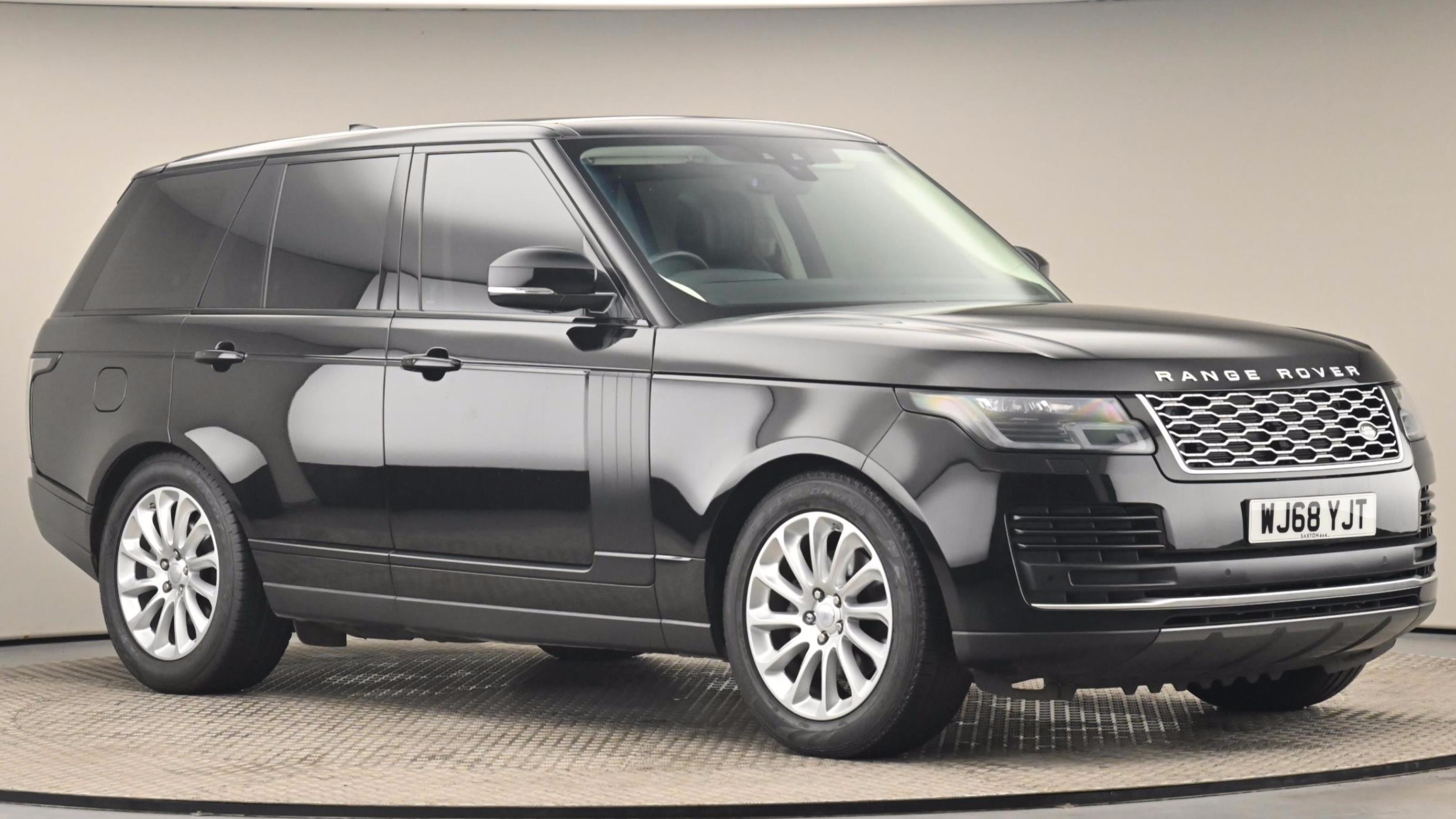 Used 2018 Land Rover RANGE ROVER 3.0 SDV6 Vogue 4dr Auto BLACK at Saxton4x4