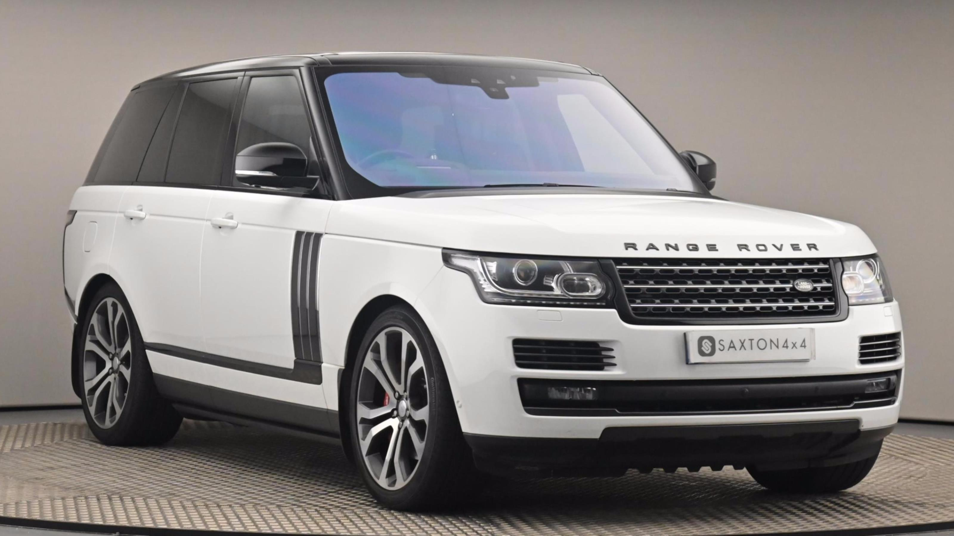Used 2017 Land Rover RANGE ROVER 5.0 V8 S/C SVAutobiography Dynamic 4dr Auto WHITE at Saxton4x4