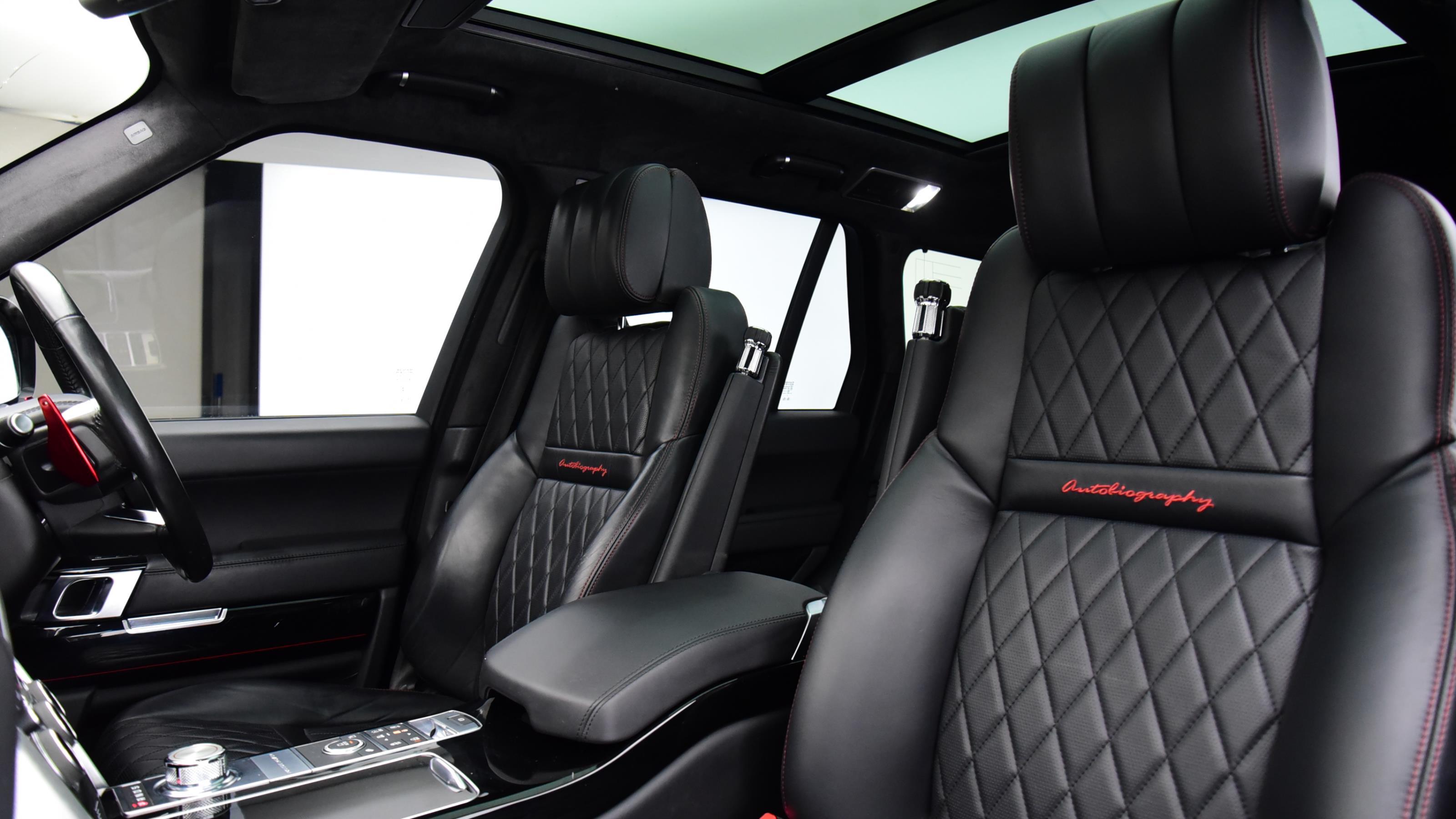 Used 2017 Land Rover RANGE ROVER 5.0 V8 S/C SVAutobiography Dynamic 4dr Auto BLACK at Saxton4x4