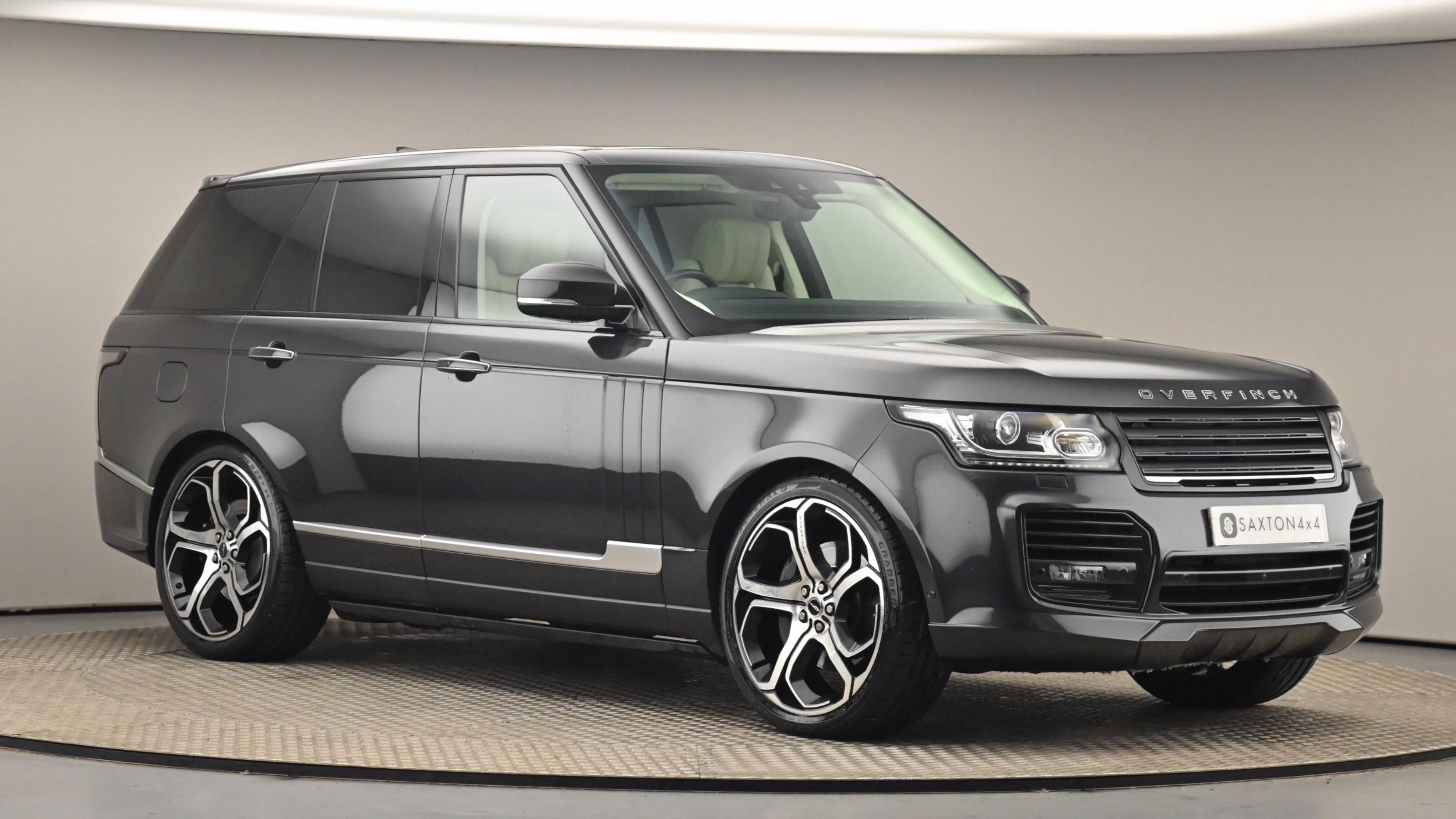 Used 2016 Land Rover RANGE ROVER 4.4 SDV8 Autobiography 4dr Auto GREY at Saxton4x4