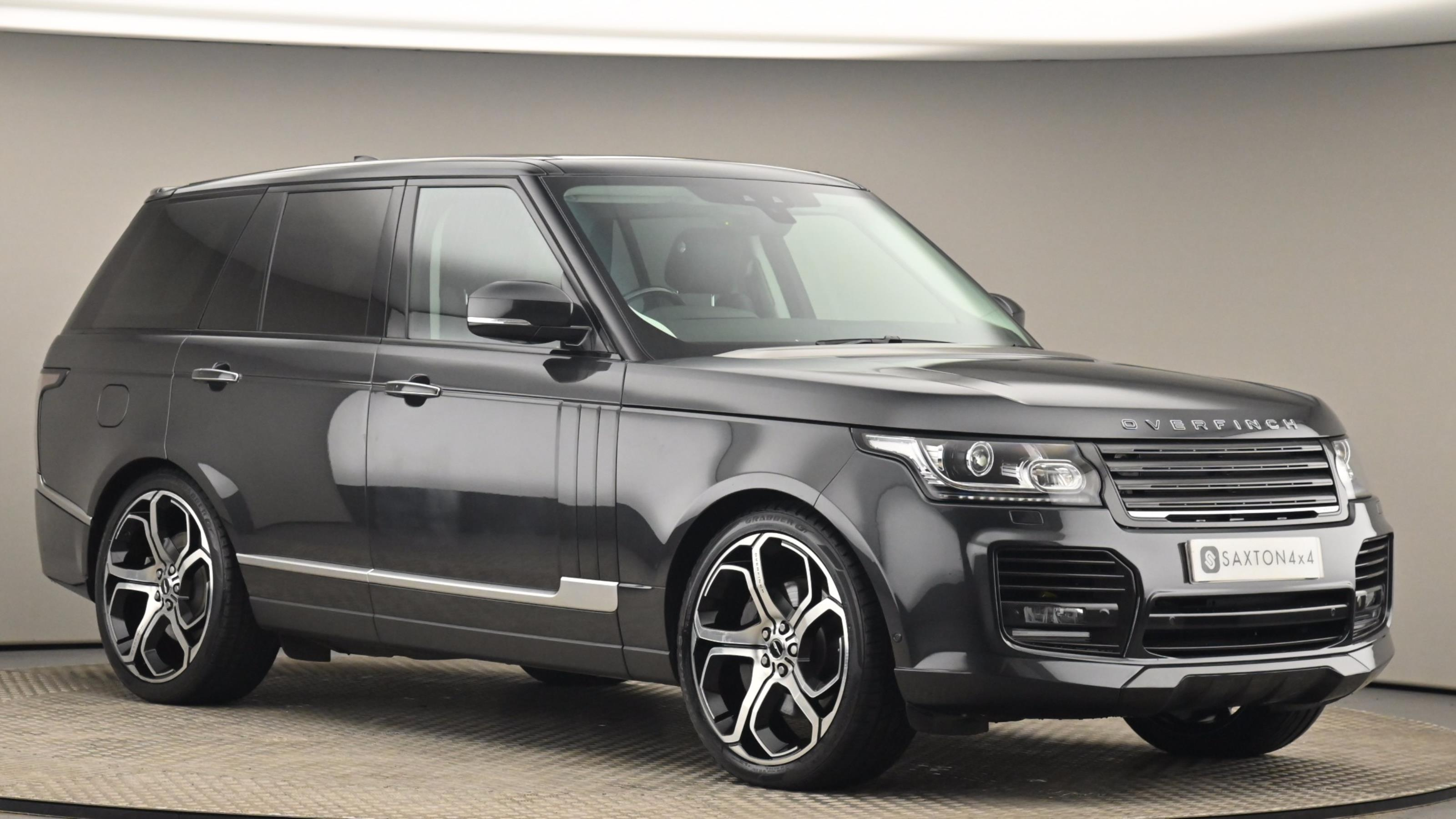 Used 2017 Land Rover RANGE ROVER 4.4 SDV8 Vogue SE 4dr Auto Grey at Saxton4x4