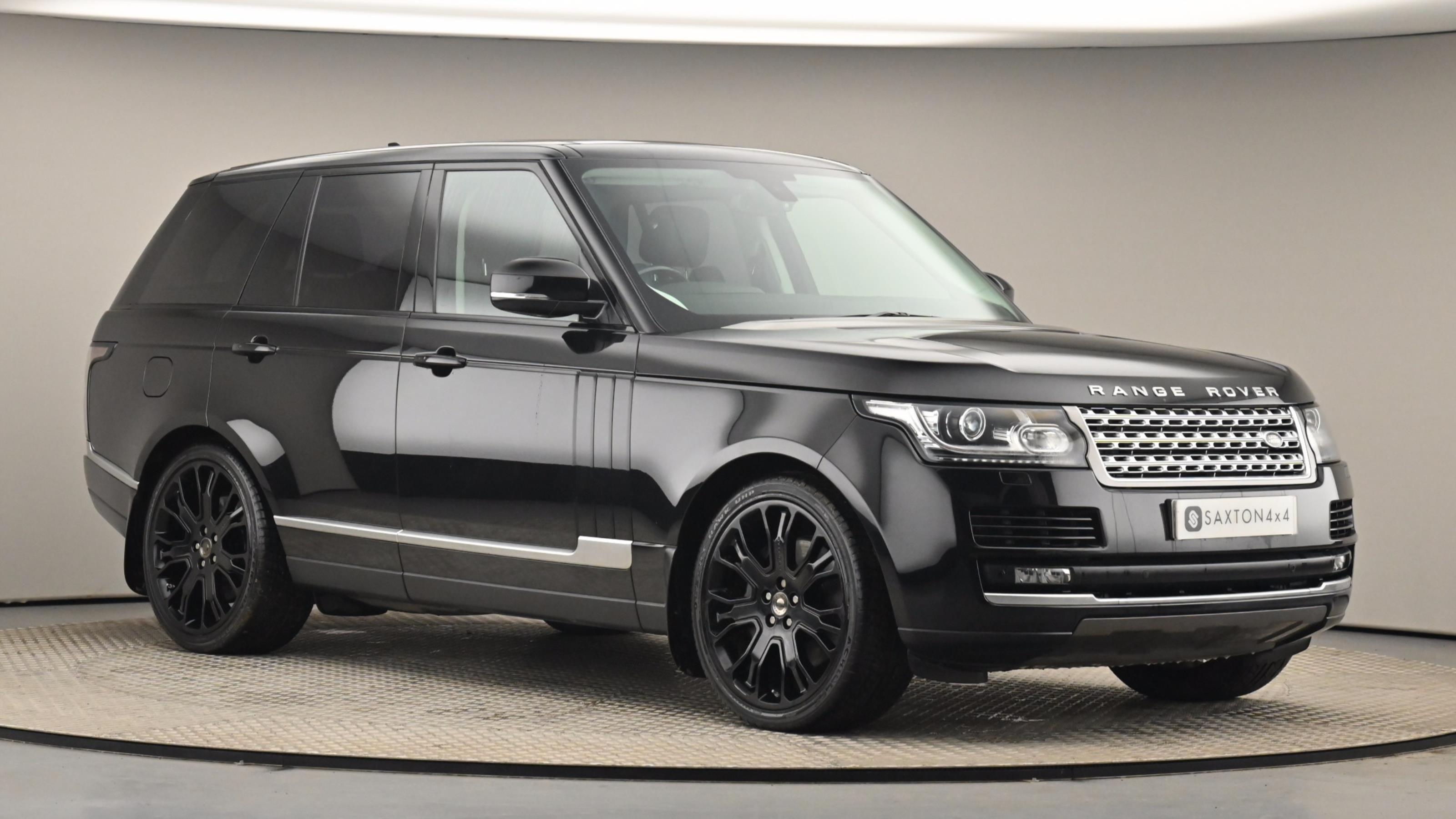 Used 2015 Land Rover RANGE ROVER 4.4 SDV8 Vogue 4dr Auto BLACK at Saxton4x4