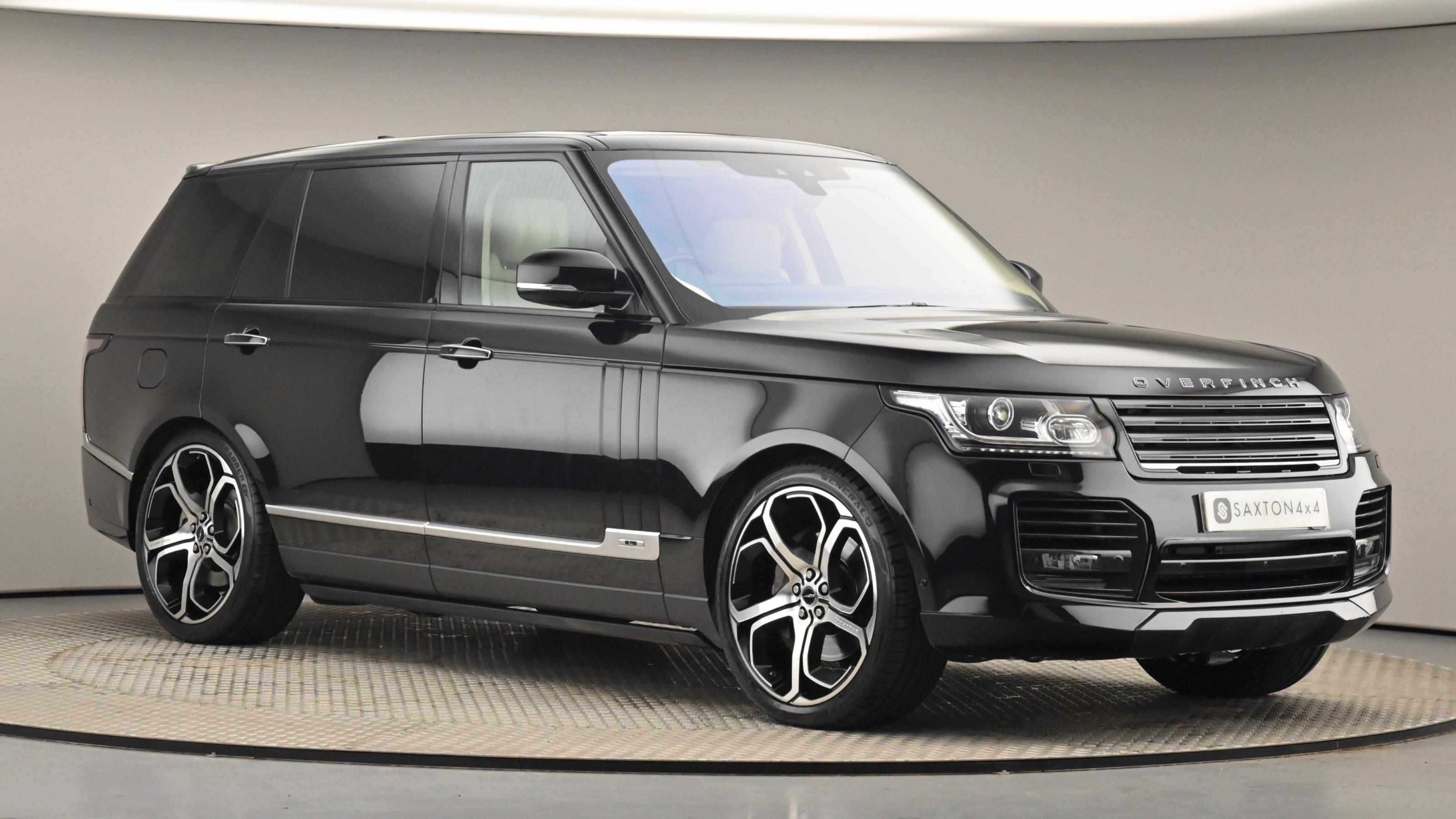 Used 2017 Land Rover RANGE ROVER 4.4 SDV8 Autobiography LWB 4dr Auto BLACK at Saxton4x4