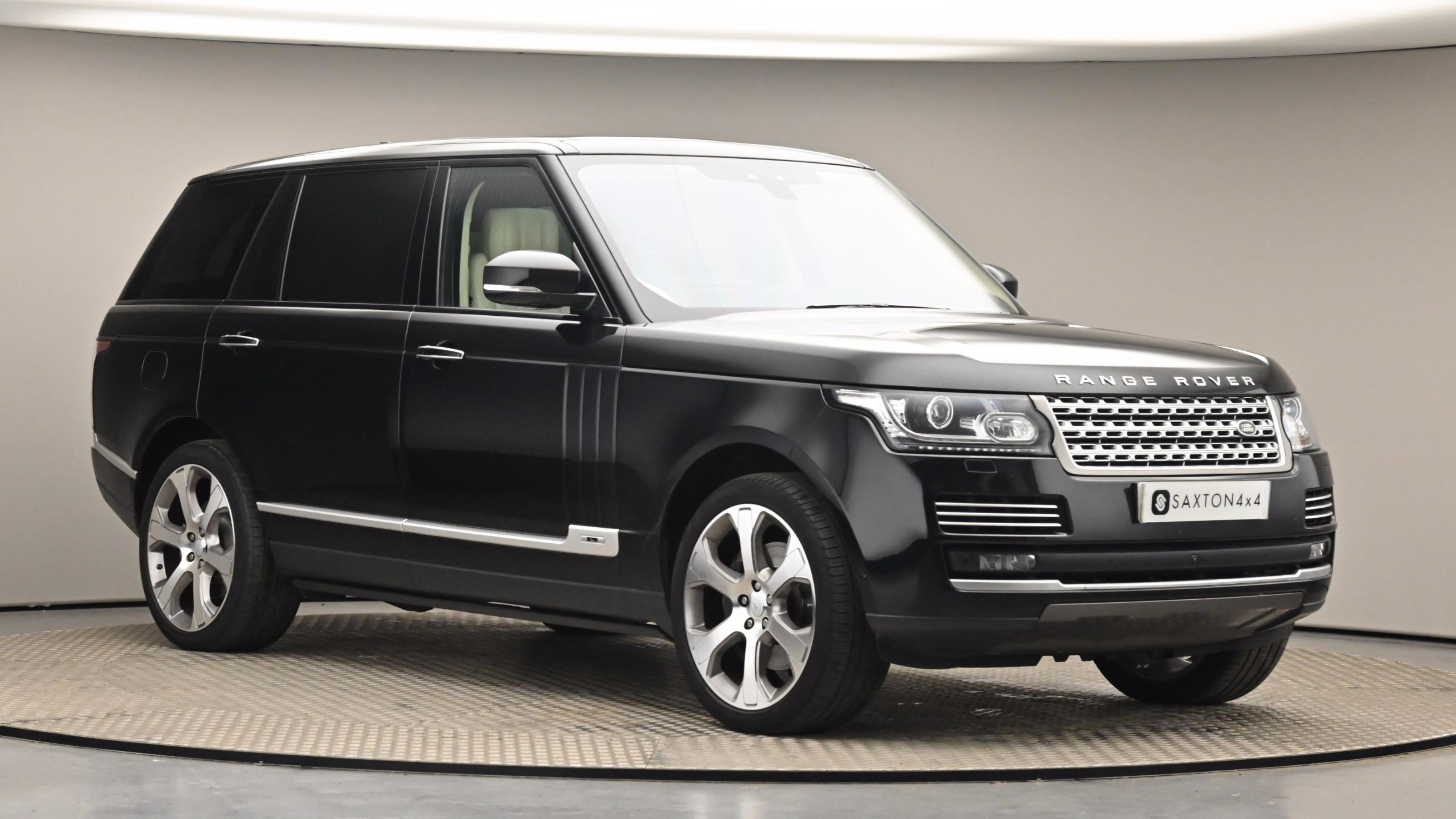 Used 2017 Land Rover RANGE ROVER 4.4 SDV8 Autobiography LWB 4dr Auto BLACK at Saxton4x4