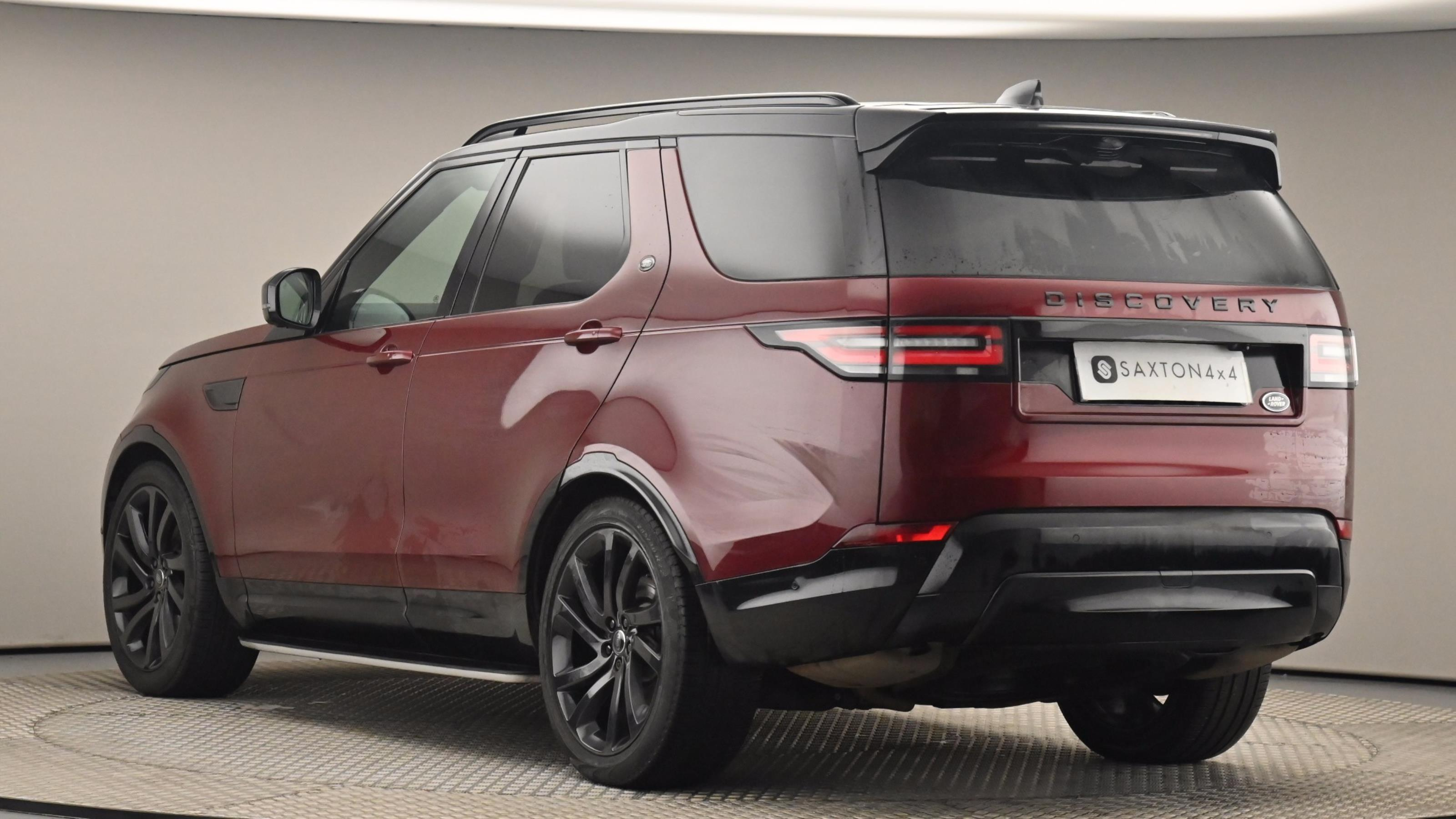 Used 2017 Land Rover DISCOVERY 3.0 Supercharged Si6 HSE Luxury 5dr Auto RED at Saxton4x4