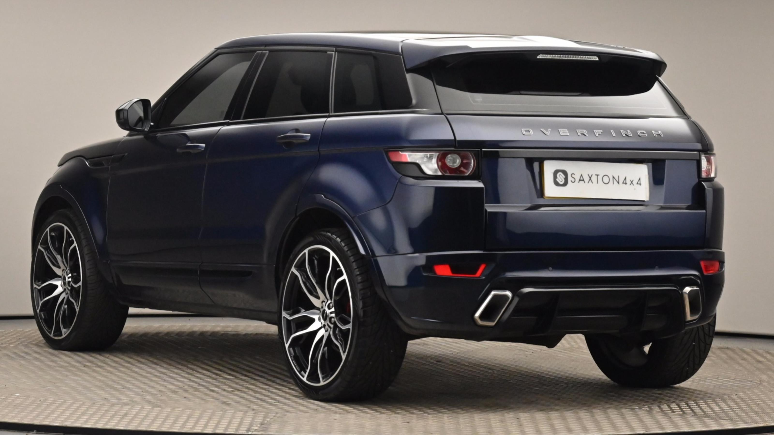 Used 15 Land Rover RANGE ROVER EVOQUE 2.2 SD4 Pure 5dr Auto [9] [Tech Pack] BLUE at Saxton4x4