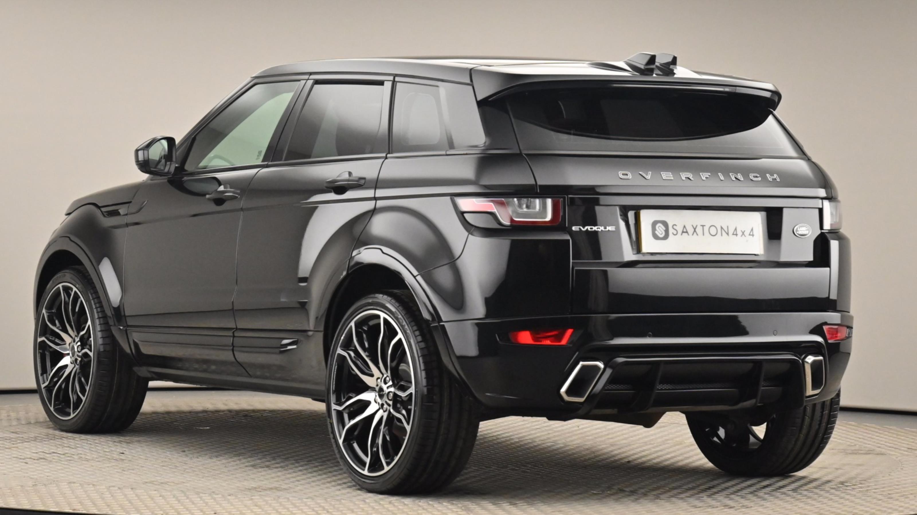 Used 2016 Land Rover RANGE ROVER EVOQUE 2.0 TD4 SE Tech 5dr Auto Black at Saxton4x4