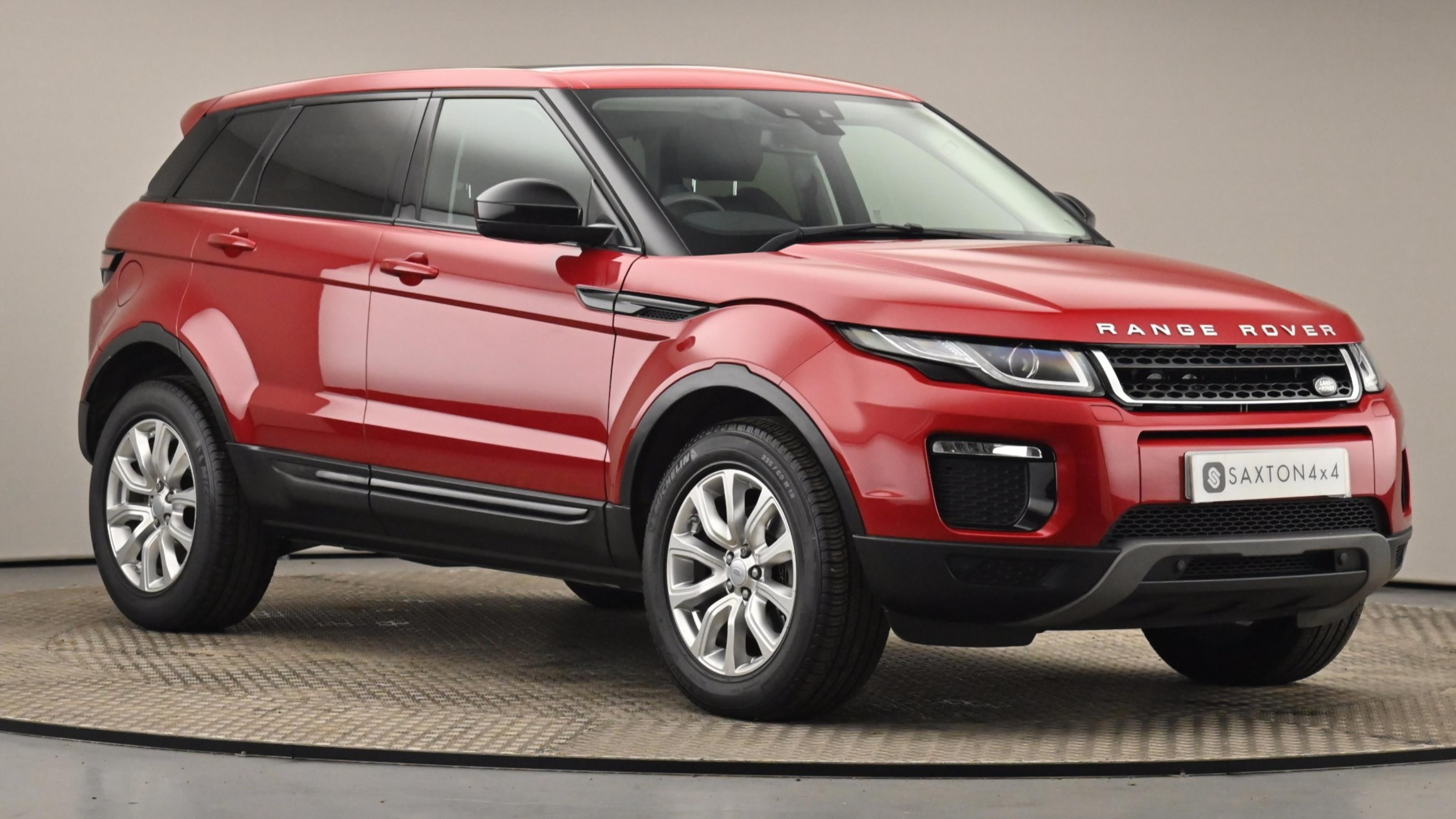 Used 15 Land Rover RANGE ROVER EVOQUE 2.0 TD4 SE Tech 5dr Auto RED at Saxton4x4