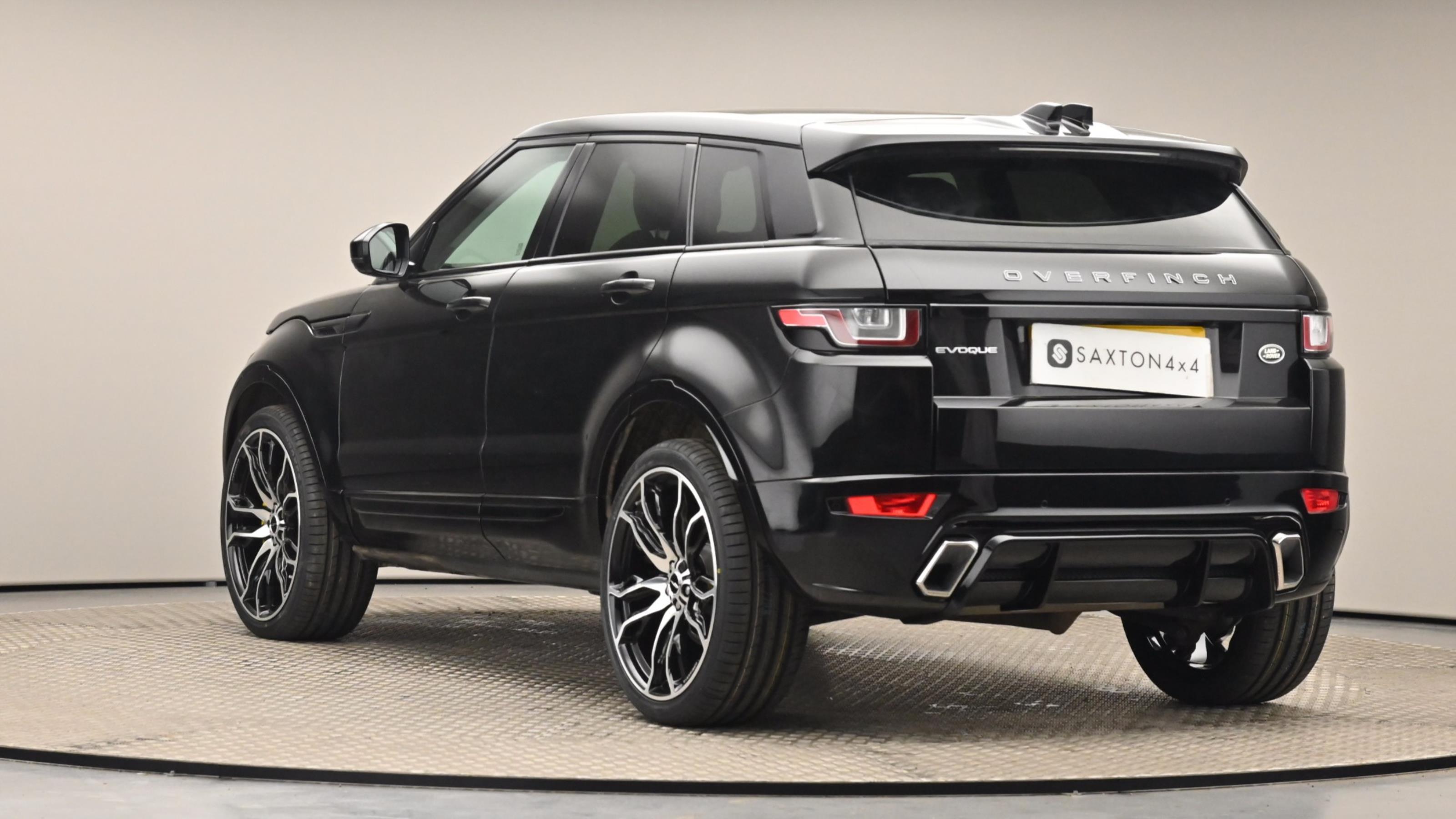 Used 16 Land Rover RANGE ROVER EVOQUE 2.0 TD4 SE Tech 5dr Auto Black at Saxton4x4