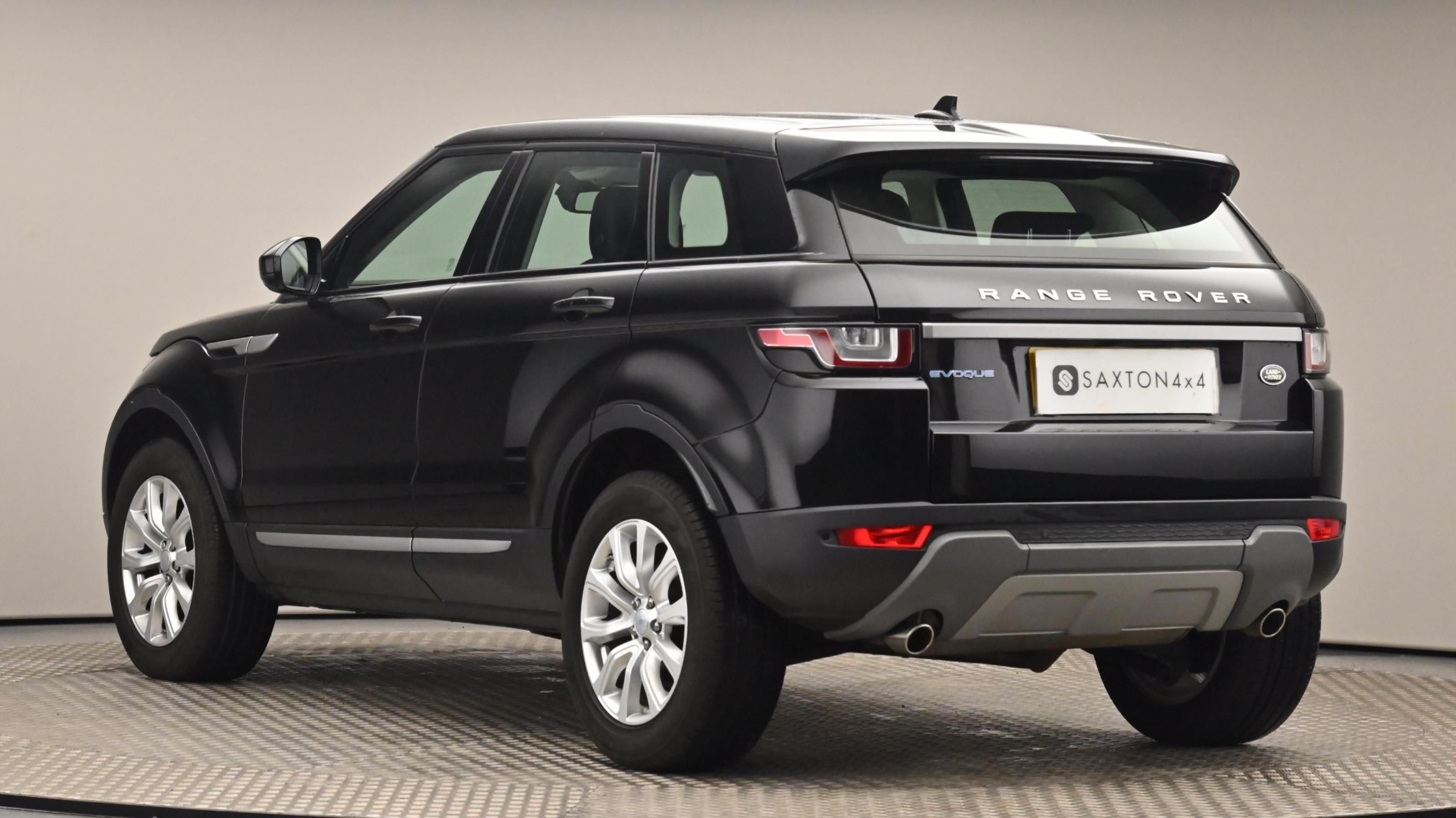 Used 15 Land Rover RANGE ROVER EVOQUE 2.0 eD4 SE 5dr 2WD Black at Saxton4x4