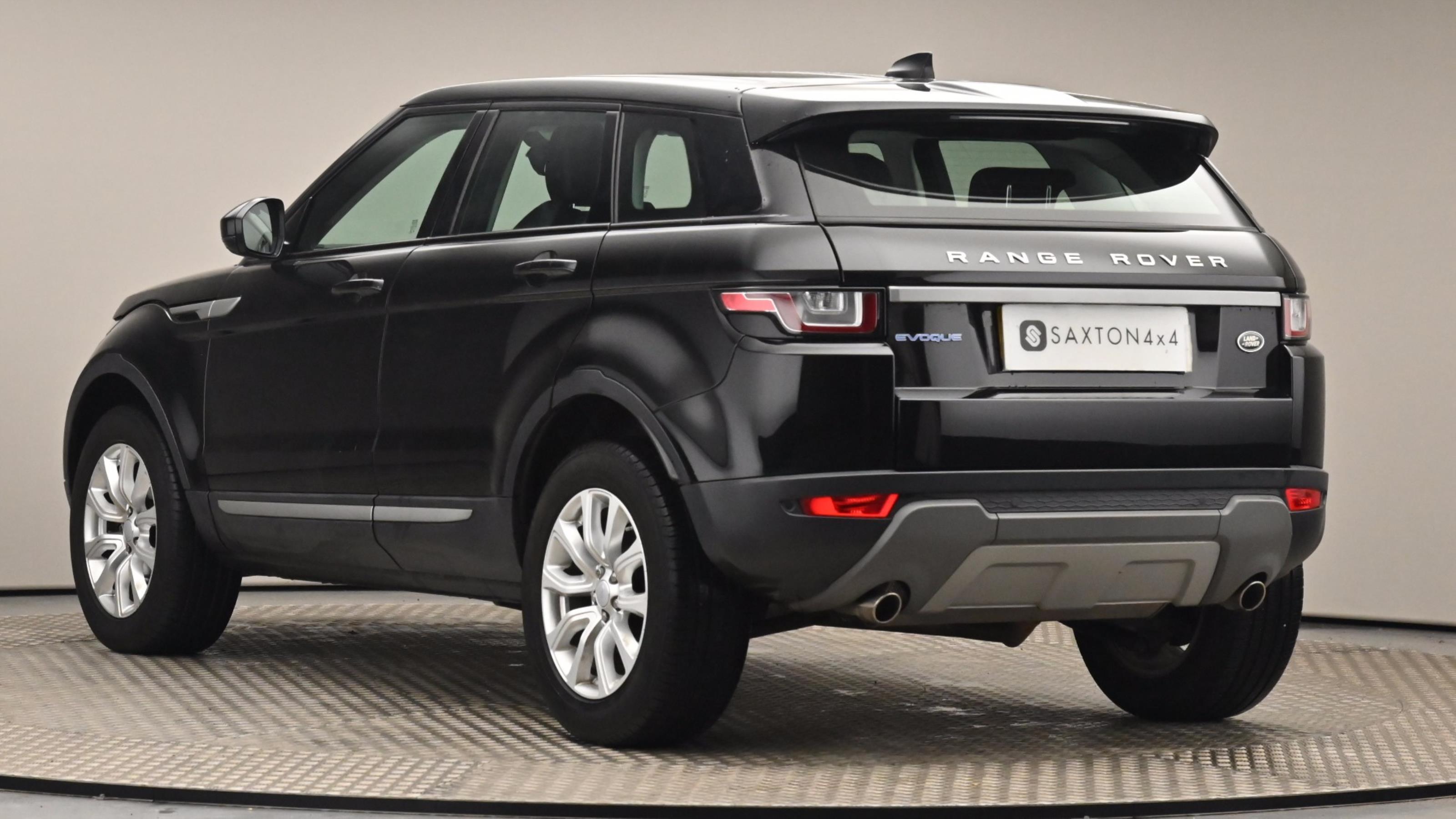 Used 16 Land Rover RANGE ROVER EVOQUE 2.0 eD4 SE 5dr 2WD BLACK at Saxton4x4