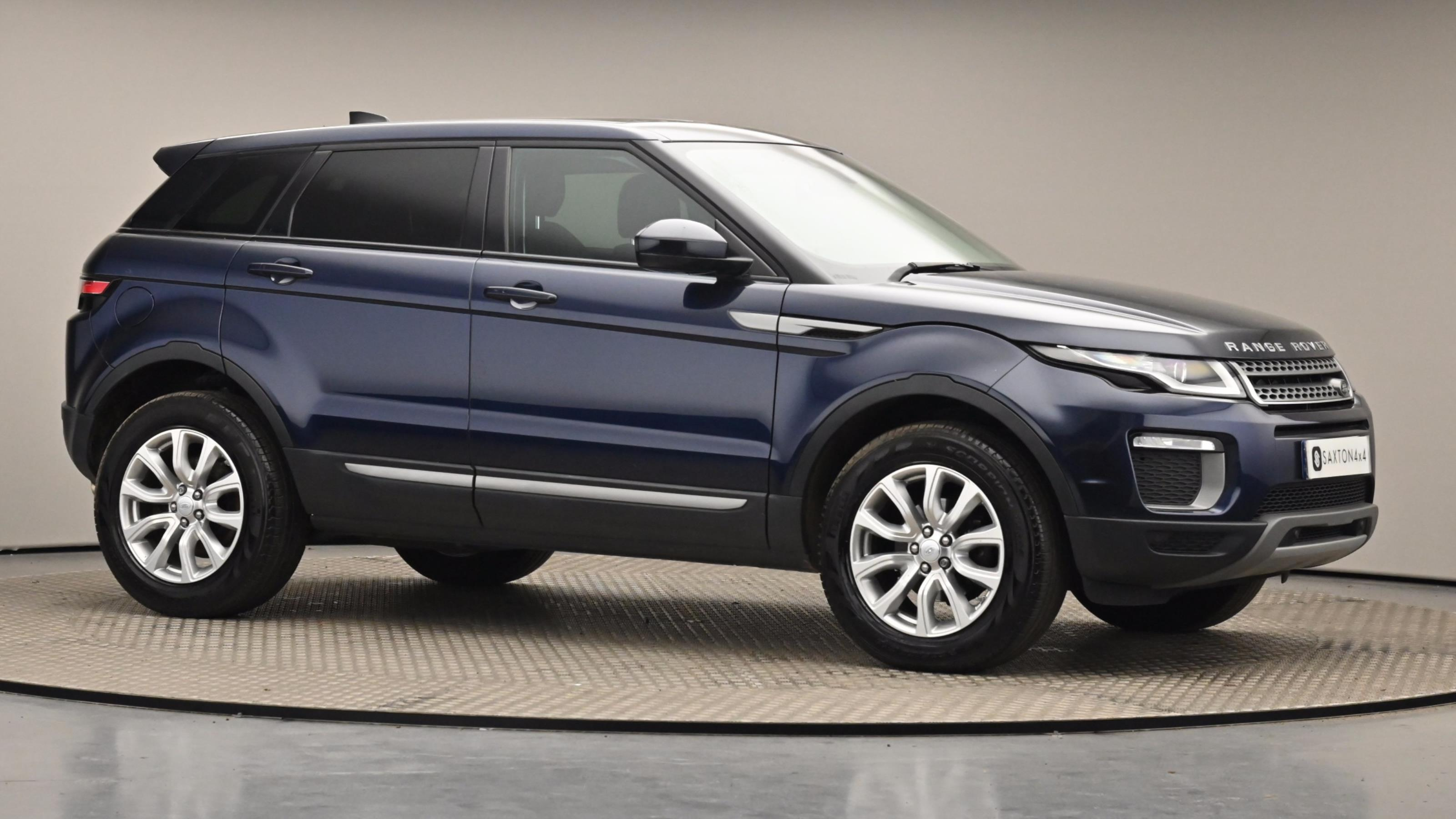 Used 16 Land Rover RANGE ROVER EVOQUE 2.0 eD4 SE 5dr 2WD BLUE at Saxton4x4