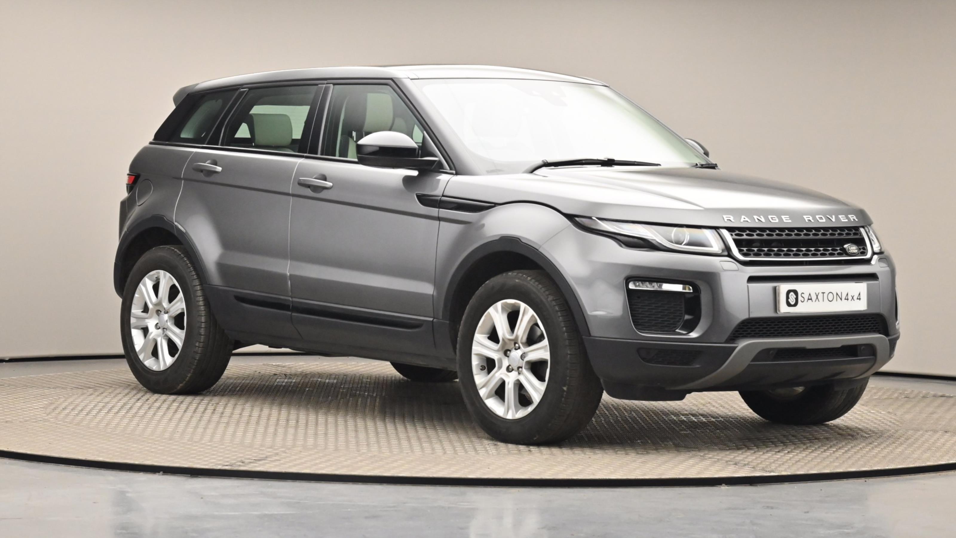 Used 16 Land Rover RANGE ROVER EVOQUE 2.0 eD4 SE Tech 5dr 2WD GREY at Saxton4x4