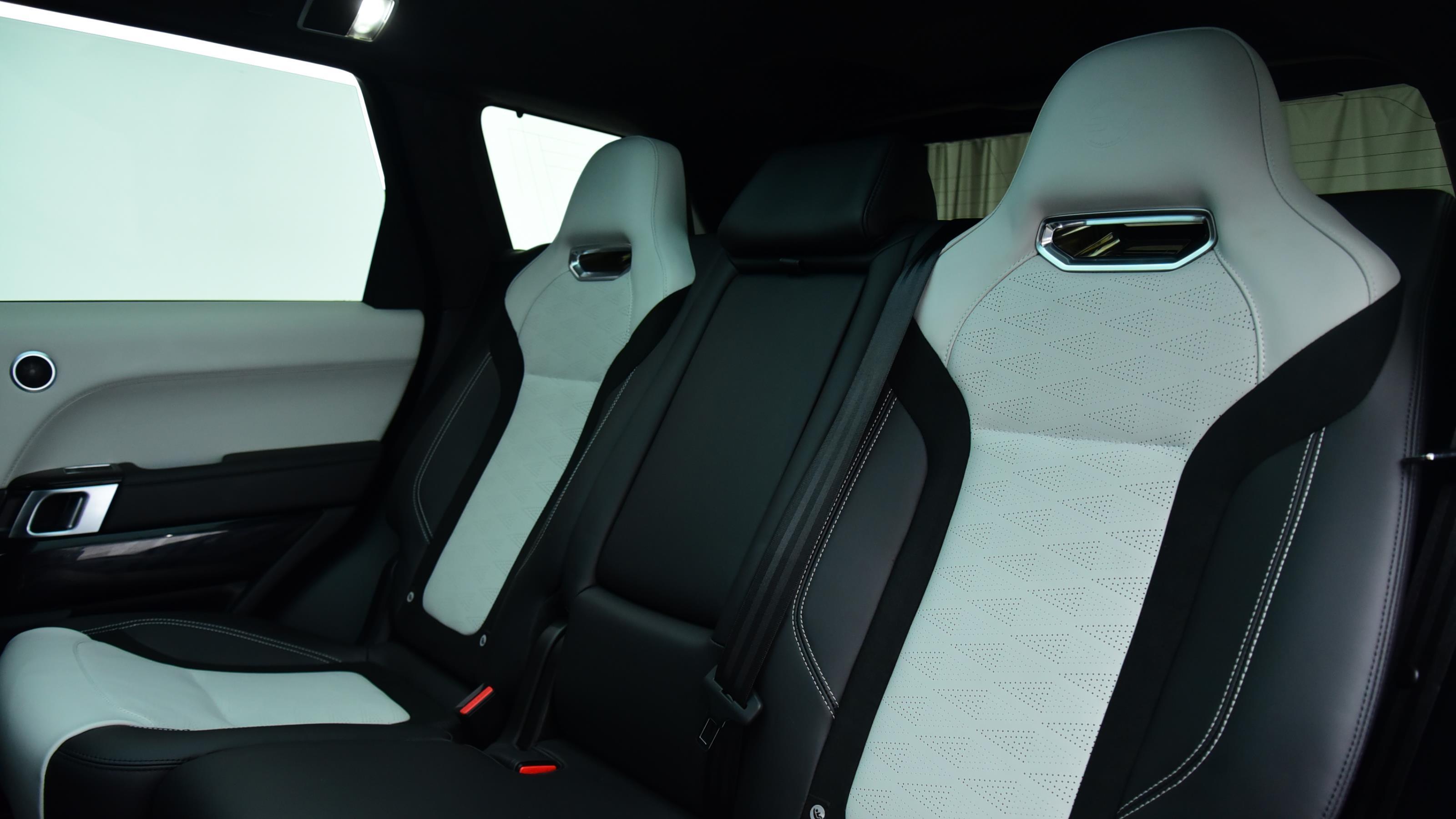 Used 2018 Land Rover RANGE ROVER SPORT 5.0 V8 S/C 575 SVR 5dr Auto Blue at Saxton4x4
