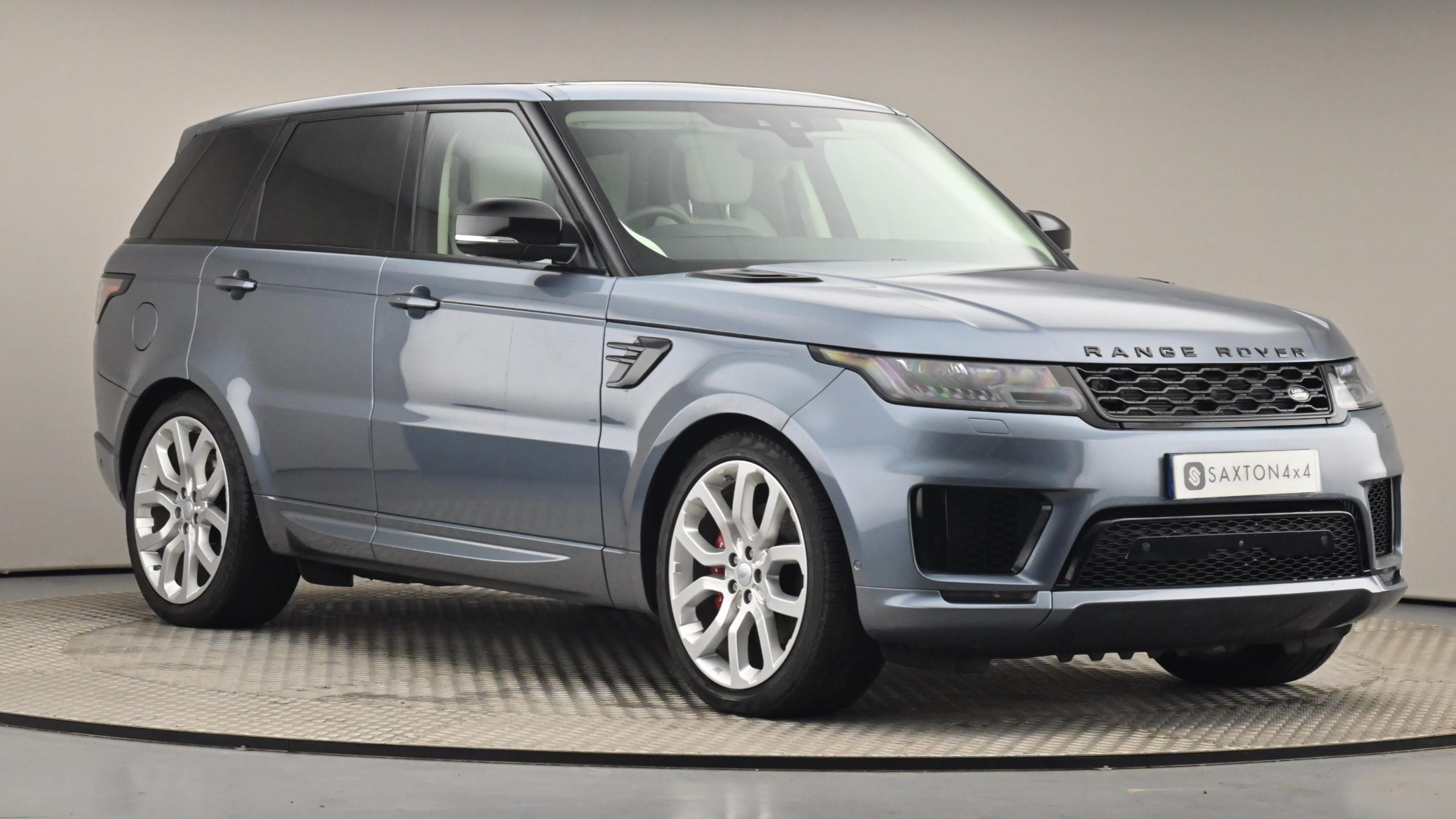 Used 2018 Land Rover RANGE ROVER SPORT 4.4 SDV8 Autobiography Dynamic 5dr Auto BLUE at Saxton4x4