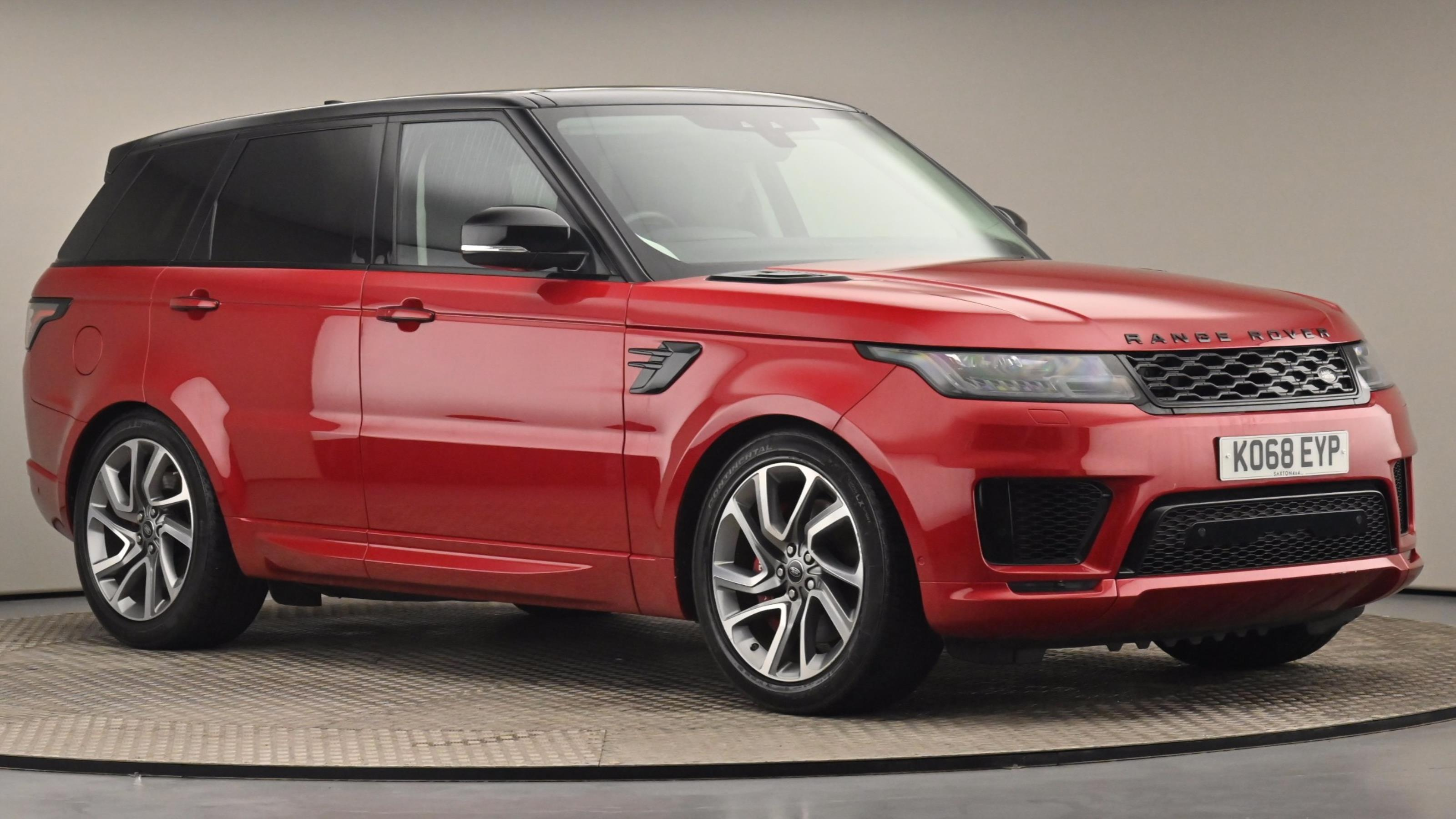 Used 2018 Land Rover RANGE ROVER SPORT 2.0 P400e Autobiography Dynamic 5dr Auto RED at Saxton4x4