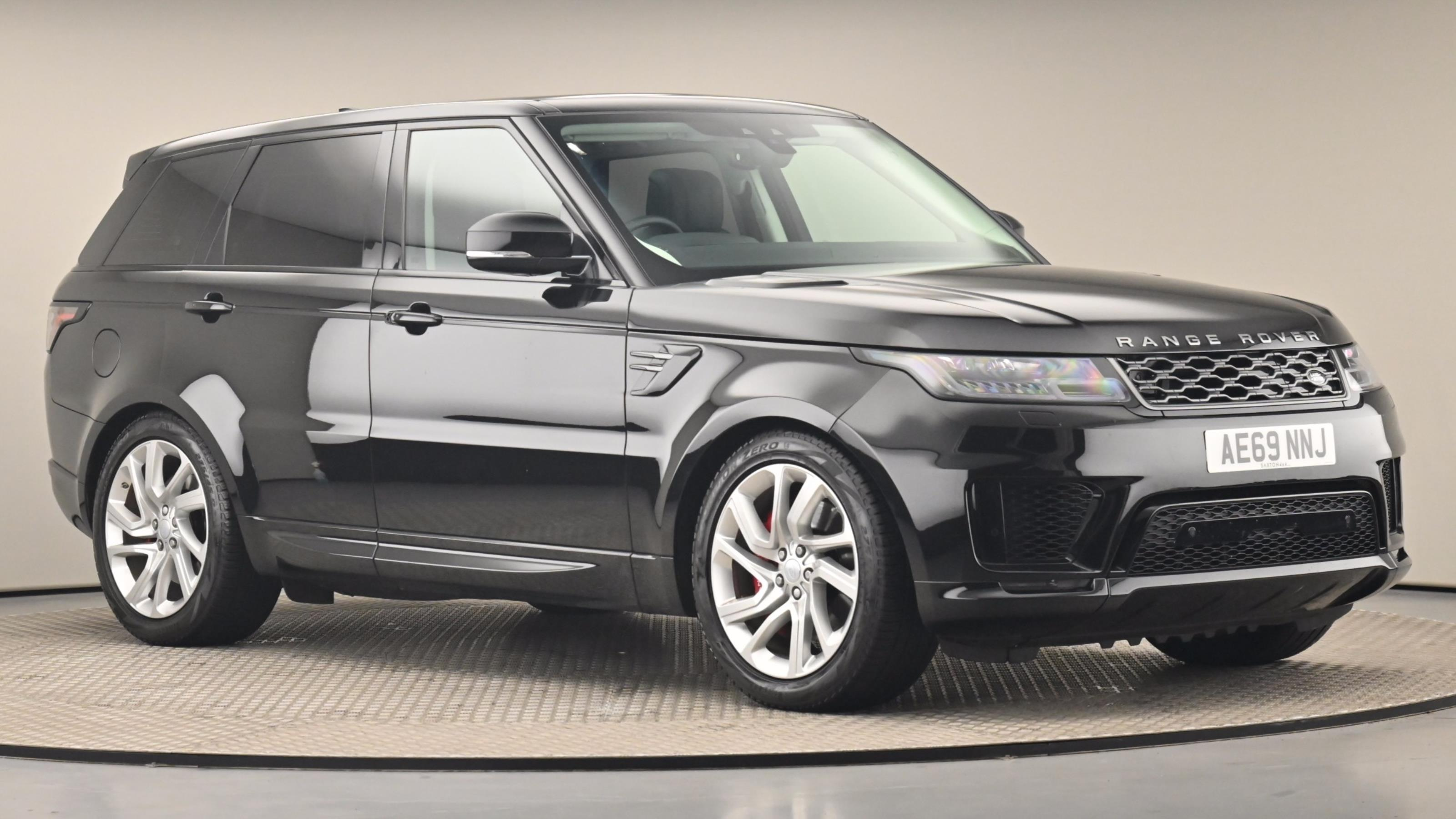 Used 2019 Land Rover RANGE ROVER SPORT 2.0 P400e HSE Dynamic 5dr Auto BLACK at Saxton4x4