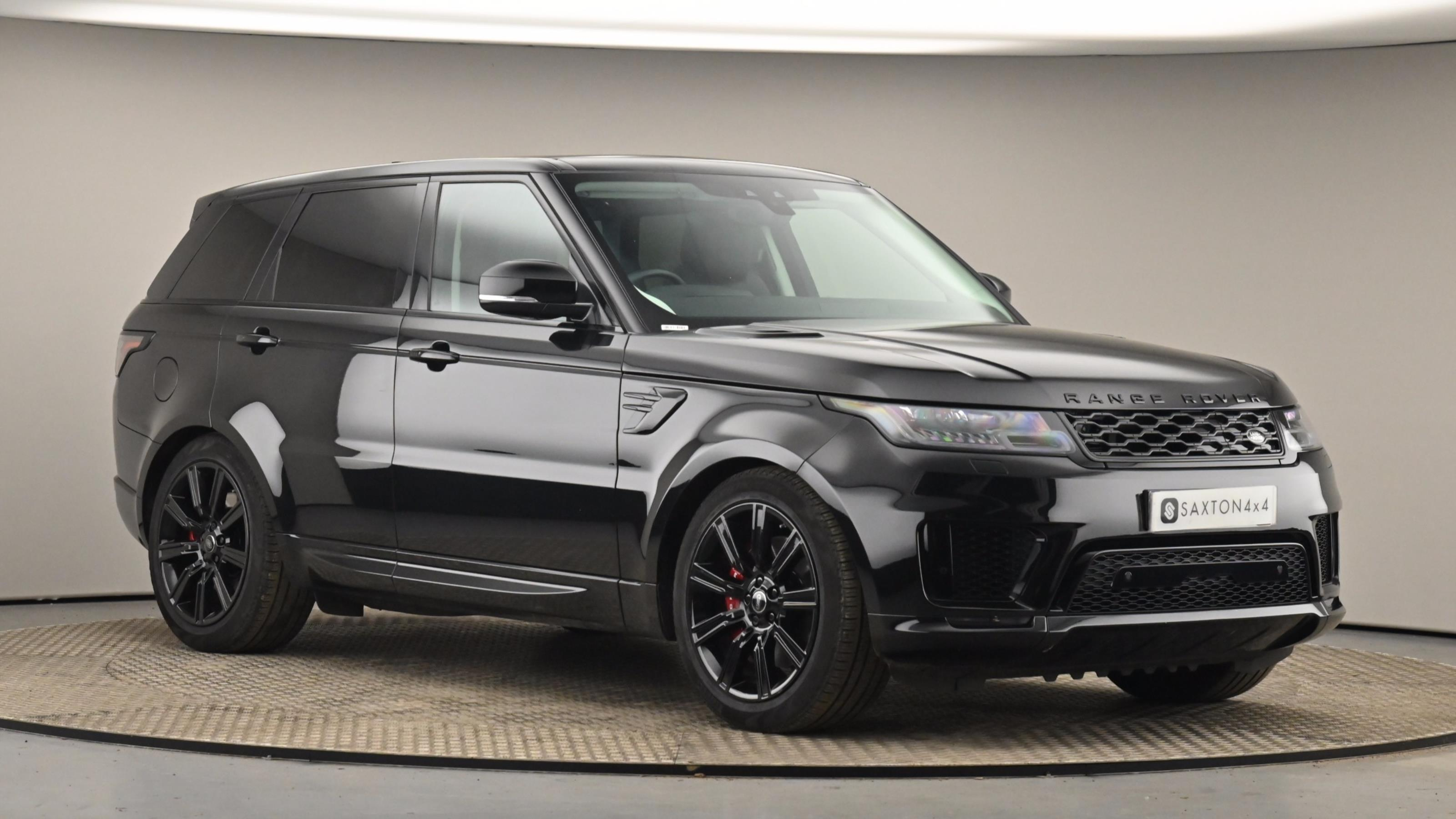 Used 2018 Land Rover RANGE ROVER SPORT 2.0 P400e HSE Dynamic 5dr Auto BLACK at Saxton4x4