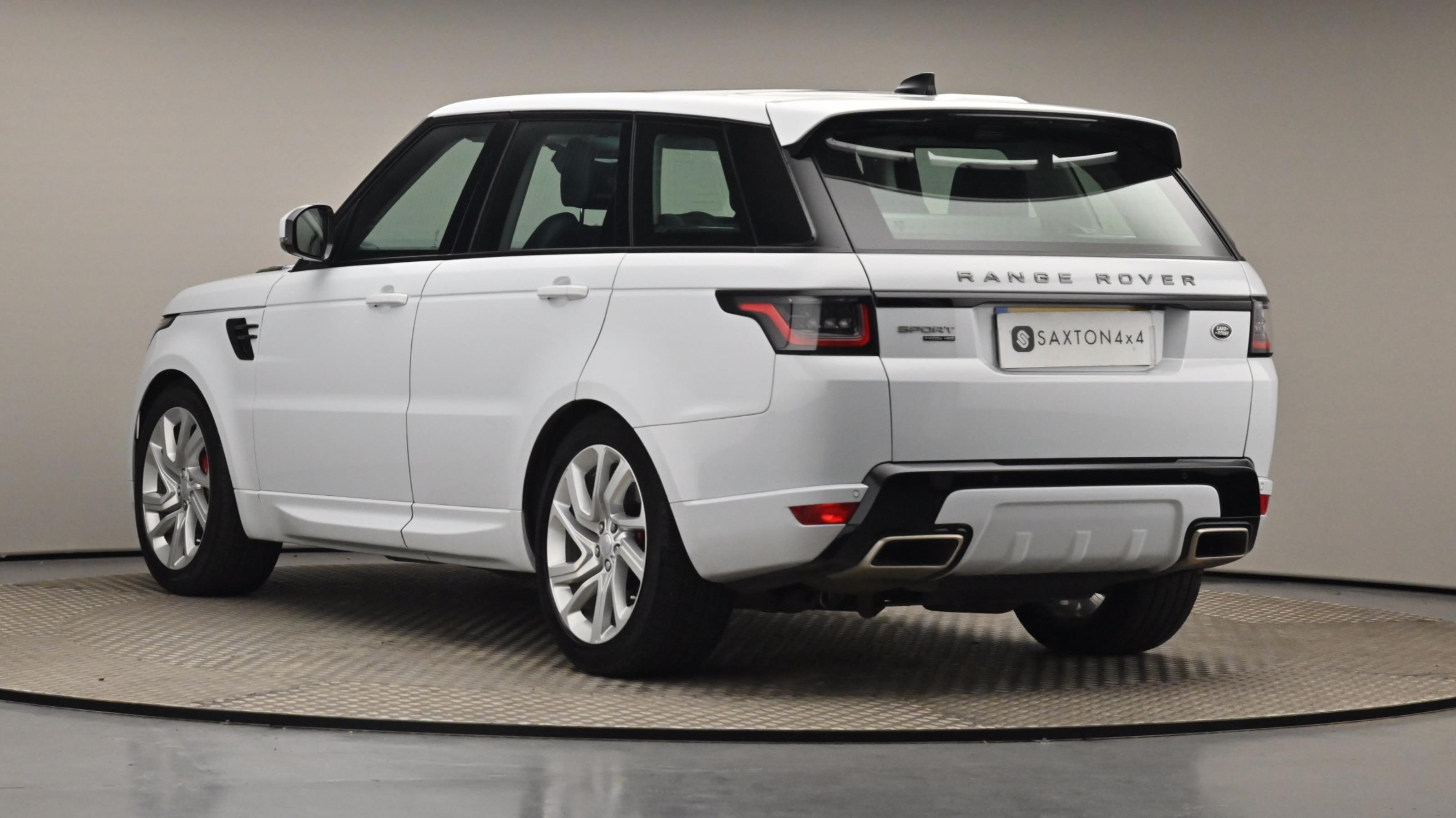 Used 2018 Land Rover RANGE ROVER SPORT 2.0 P400e HSE Dynamic 5dr Auto WHITE at Saxton4x4
