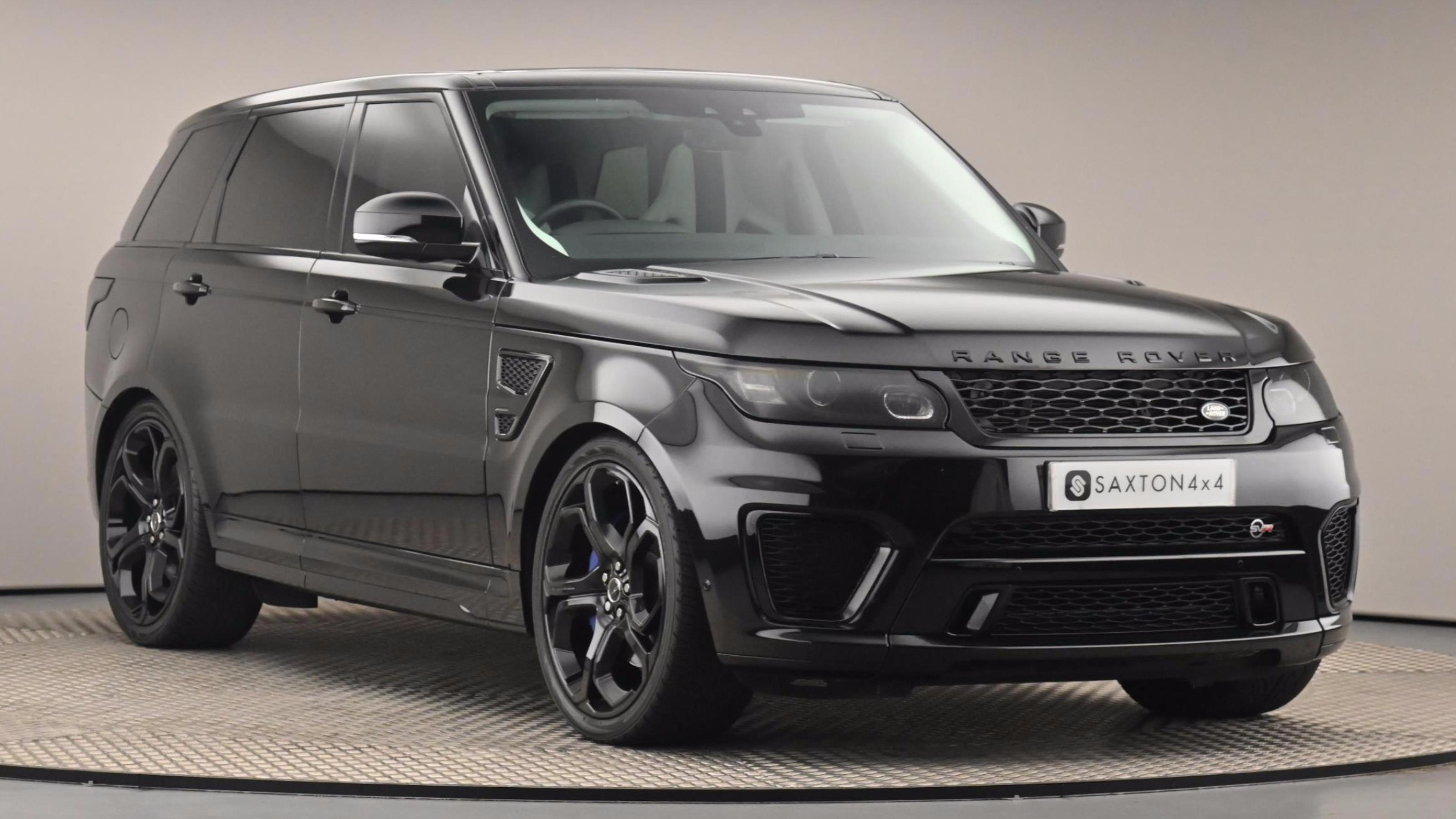 Used 2018 Land Rover Range Rover Sport SVR BLACK at Saxton4x4
