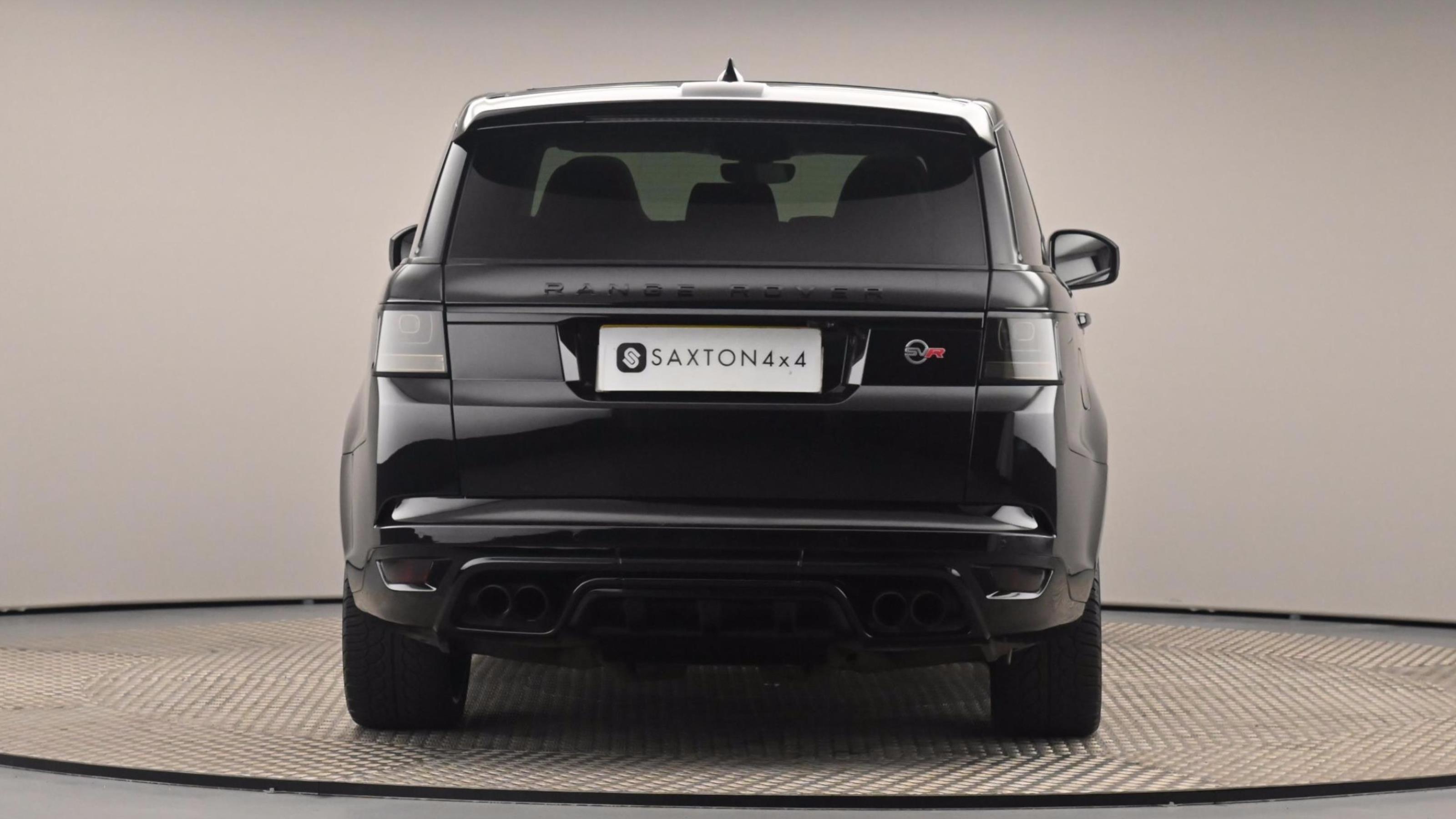 Used 2018 Land Rover Range Rover Sport SVR BLACK at Saxton4x4