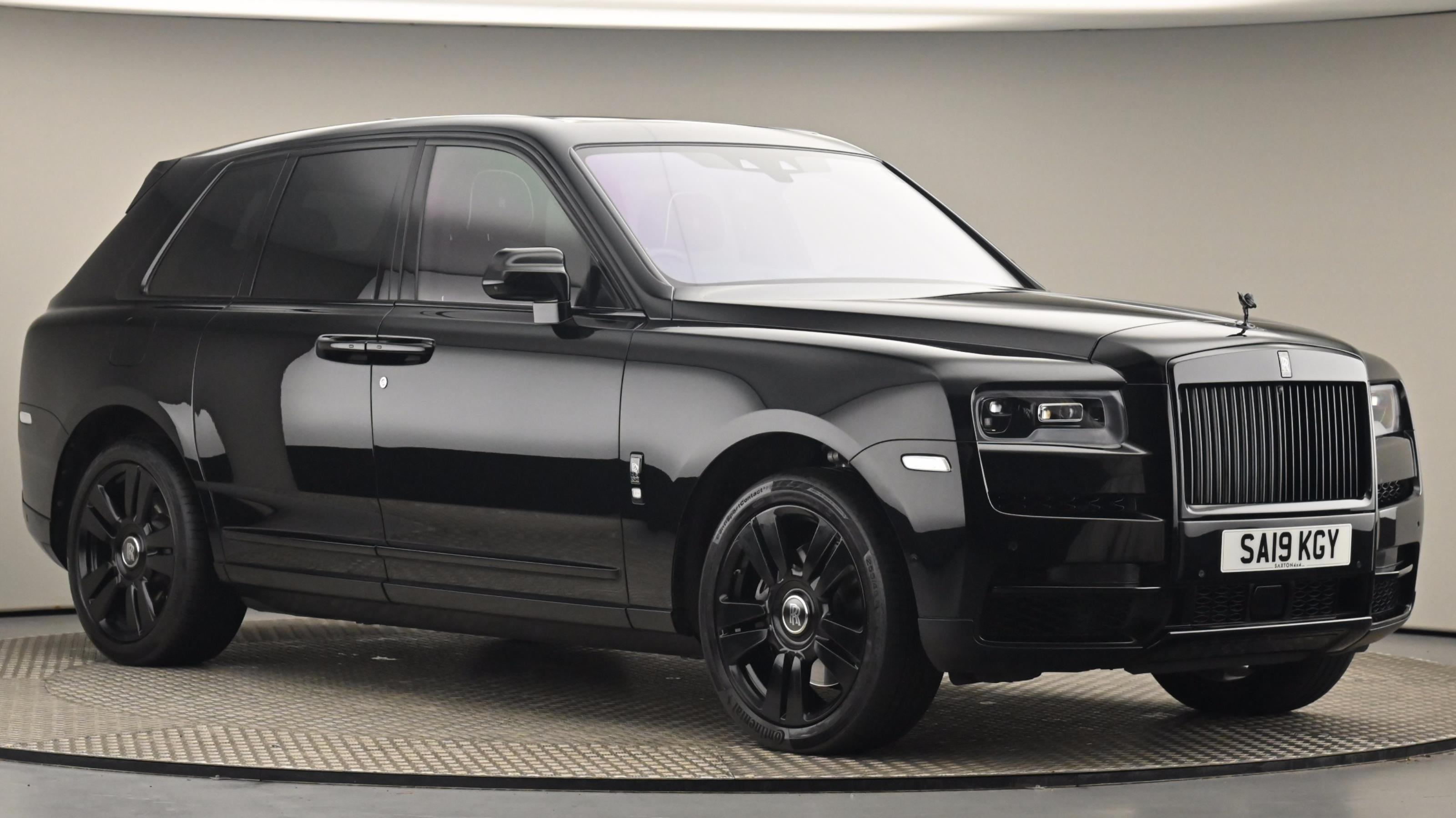 Used 2019 Rolls-Royce Cullinan V12 Auto BLACK at Saxton4x4