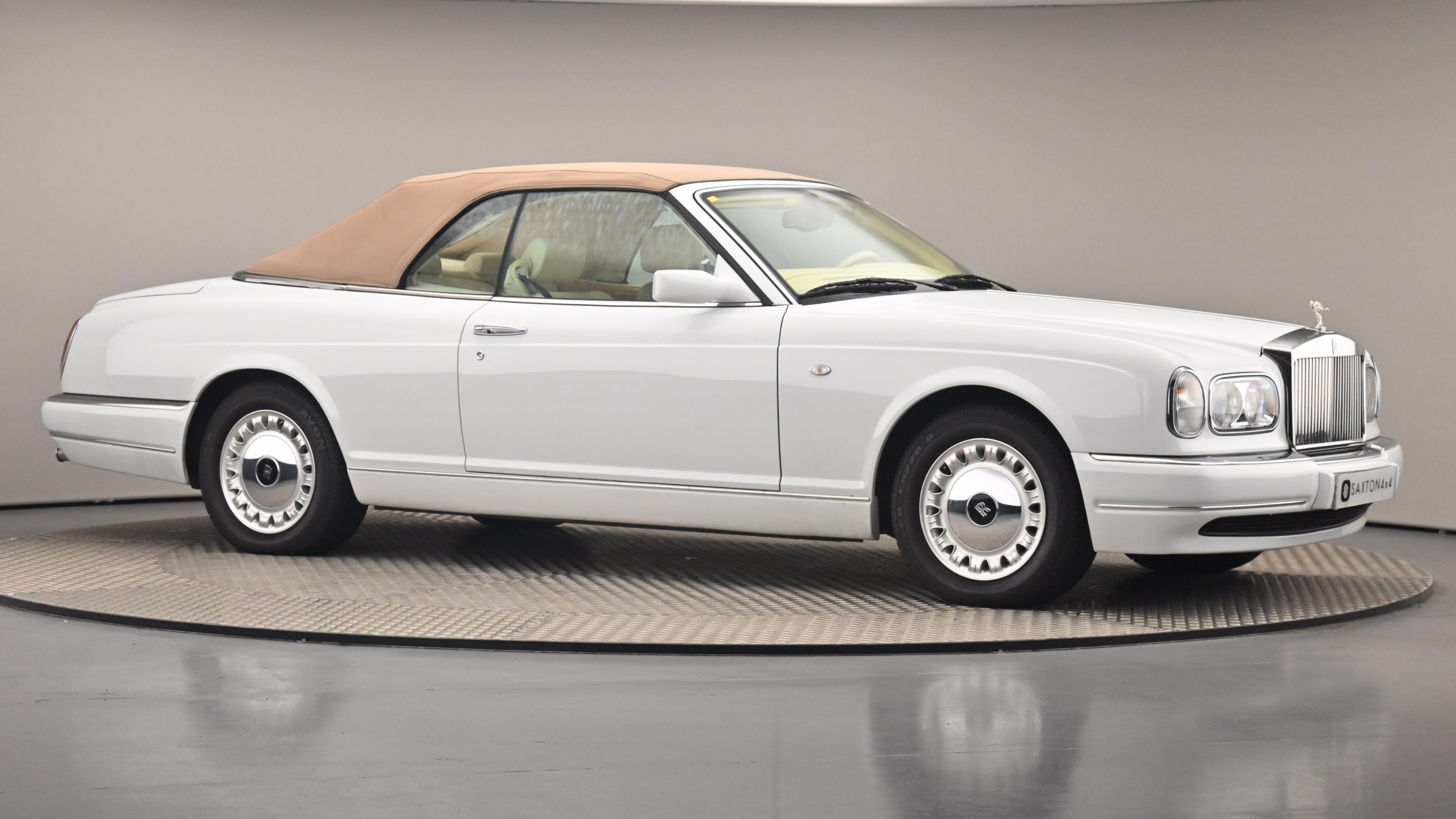 Used 2016 Rolls-Royce Corniche 6.8 CONVERTIBLE LEFT HAND DRIVE 2dr WHITE at Saxton4x4