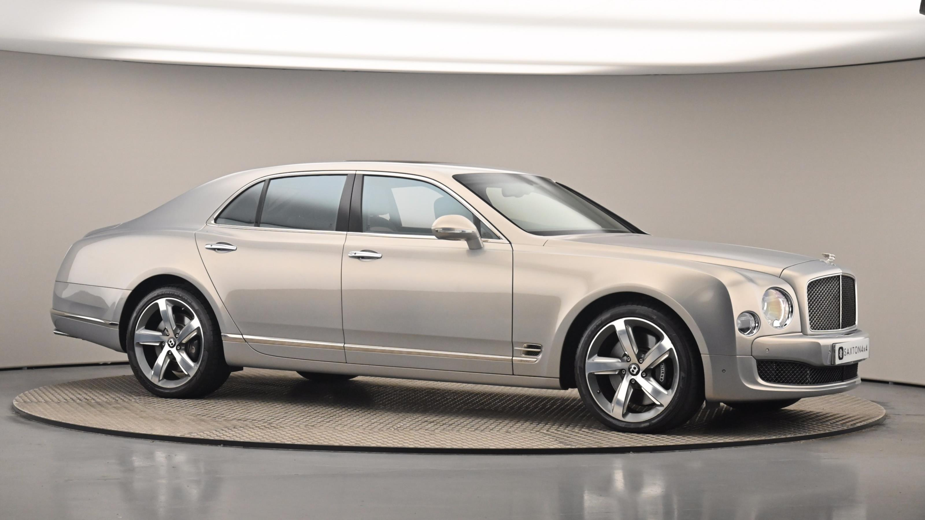 Used 2016 Bentley MULSANNE 6.8 V8 Speed 4dr Auto GREY at Saxton4x4