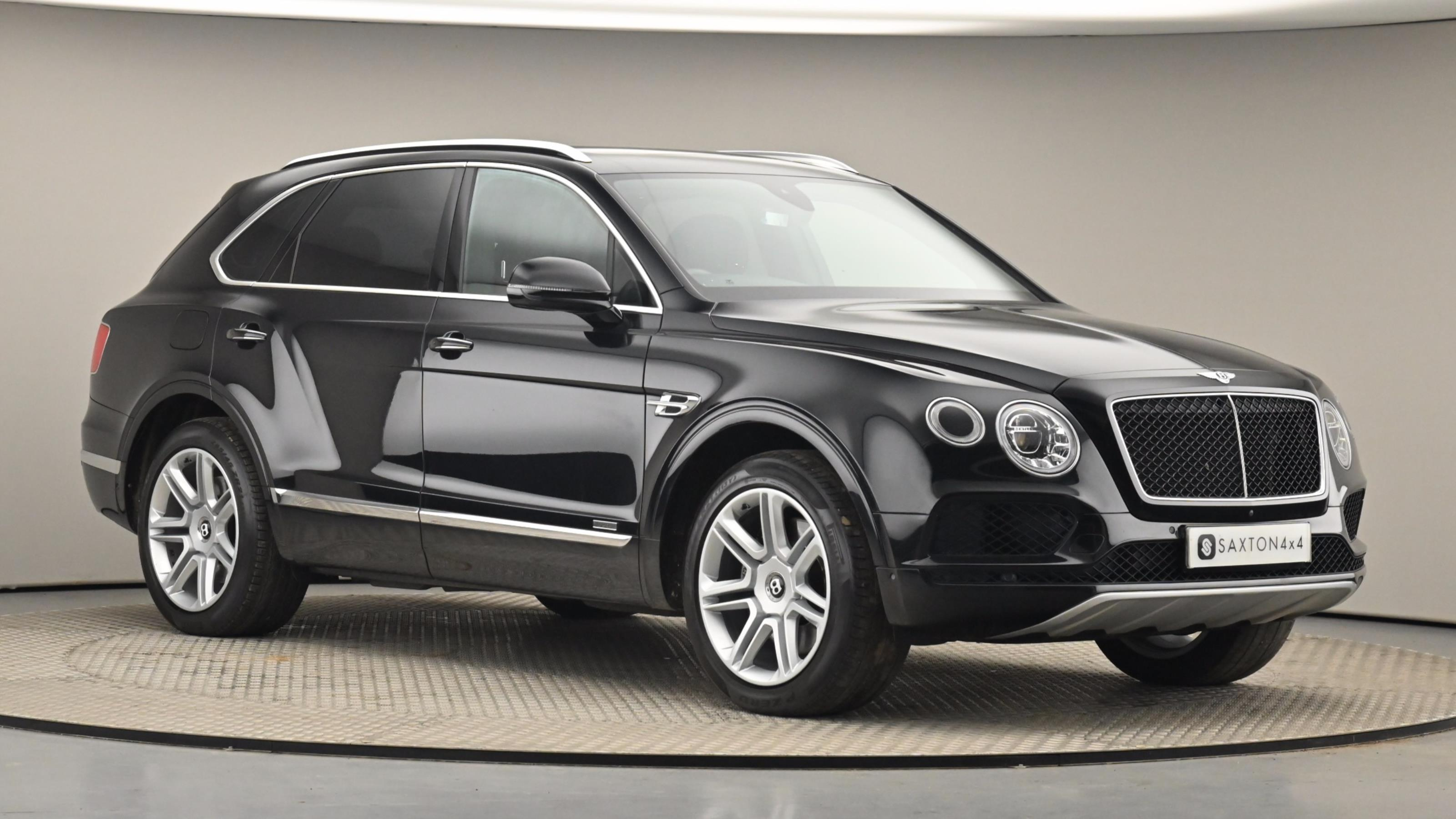 Used 2018 Bentley BENTAYGA 4.0 V8 5dr Auto BLACK at Saxton4x4