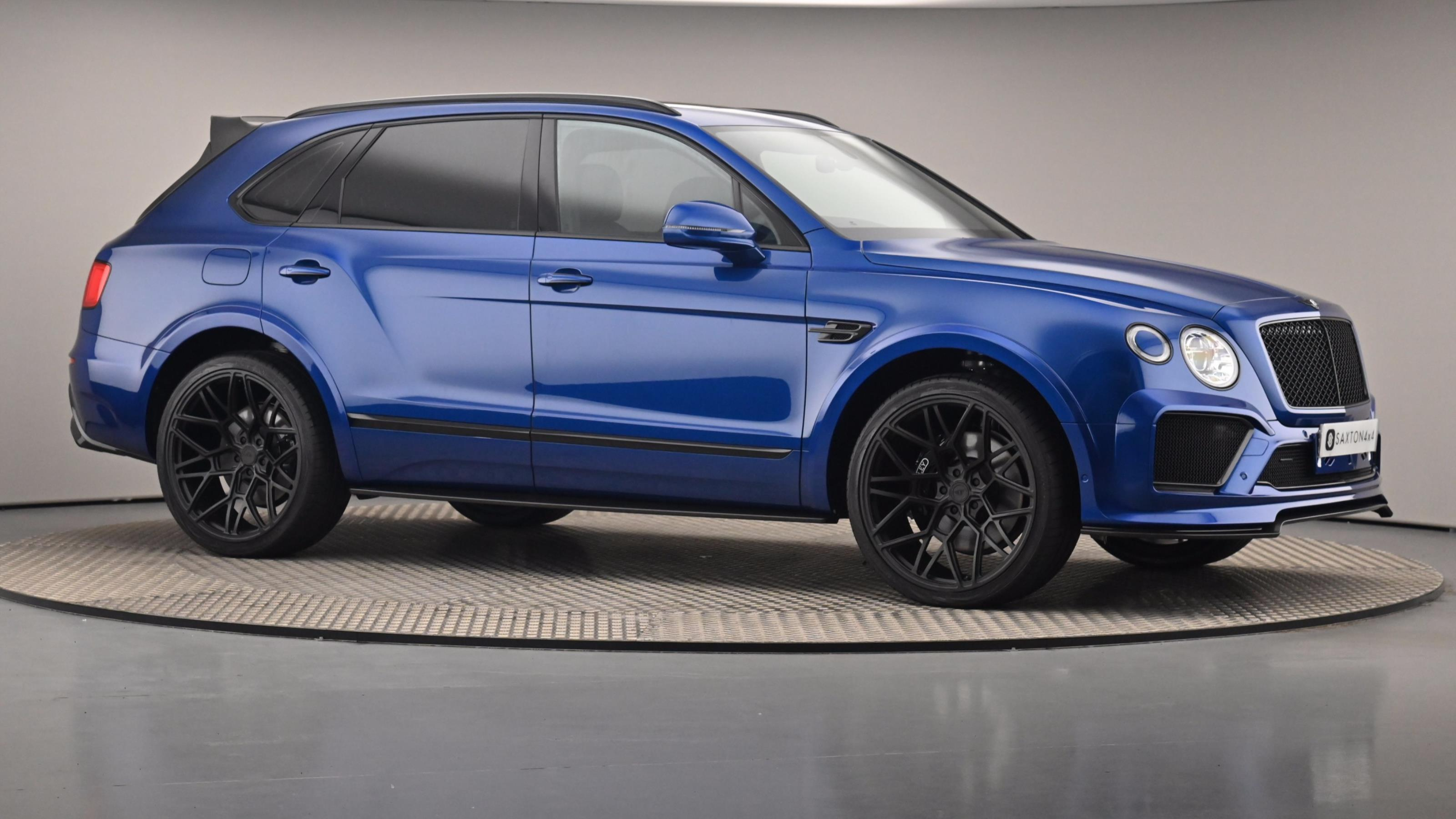 Used 19 Bentley BENTAYGA 4.0 V8 Mulliner Driving Spec 5dr Auto BLUE at Saxton4x4