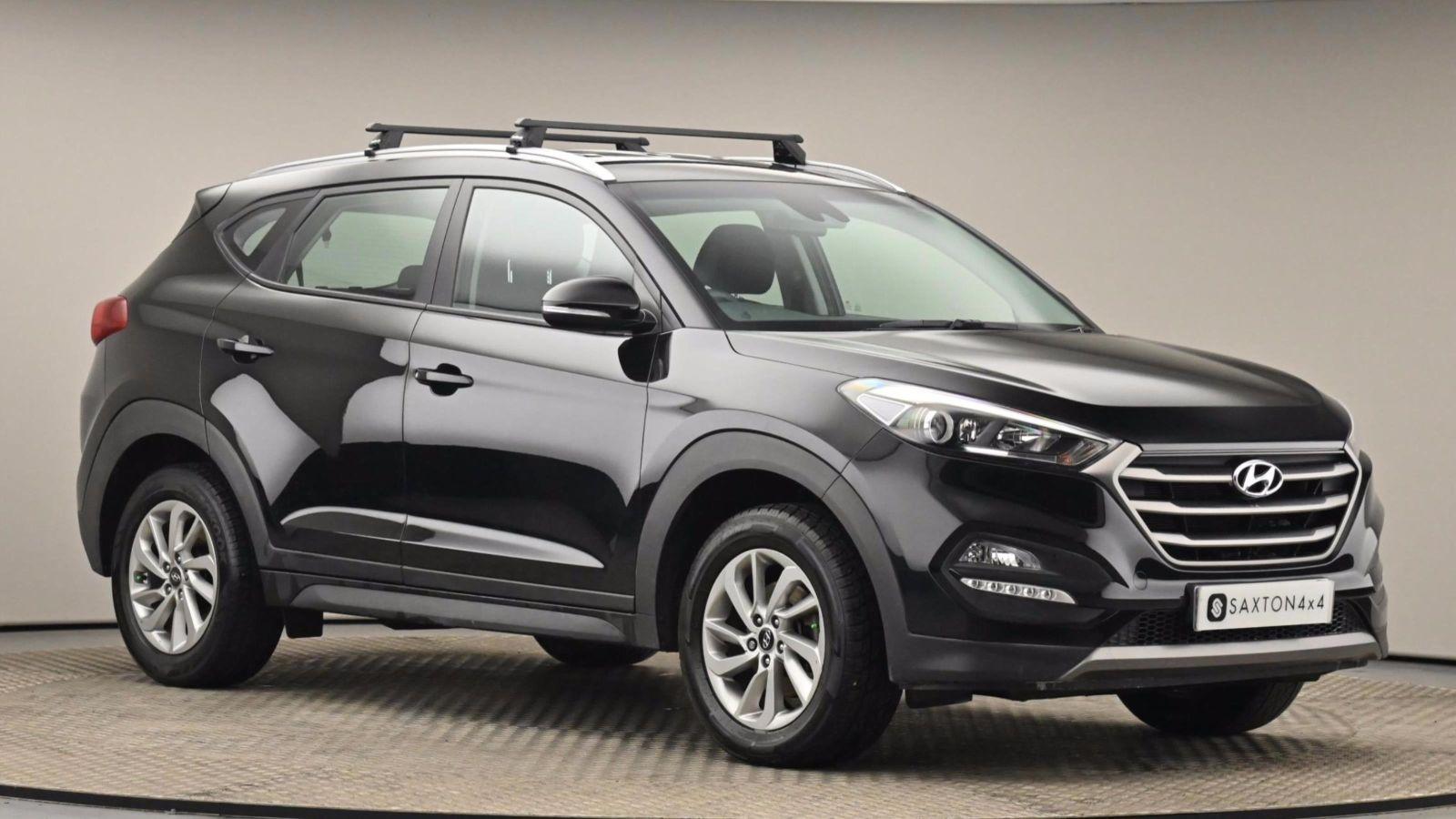 Used 2016 Hyundai TUCSON 1.6 GDi Blue Drive SE Nav 5dr 2WD BLACK at Saxton4x4